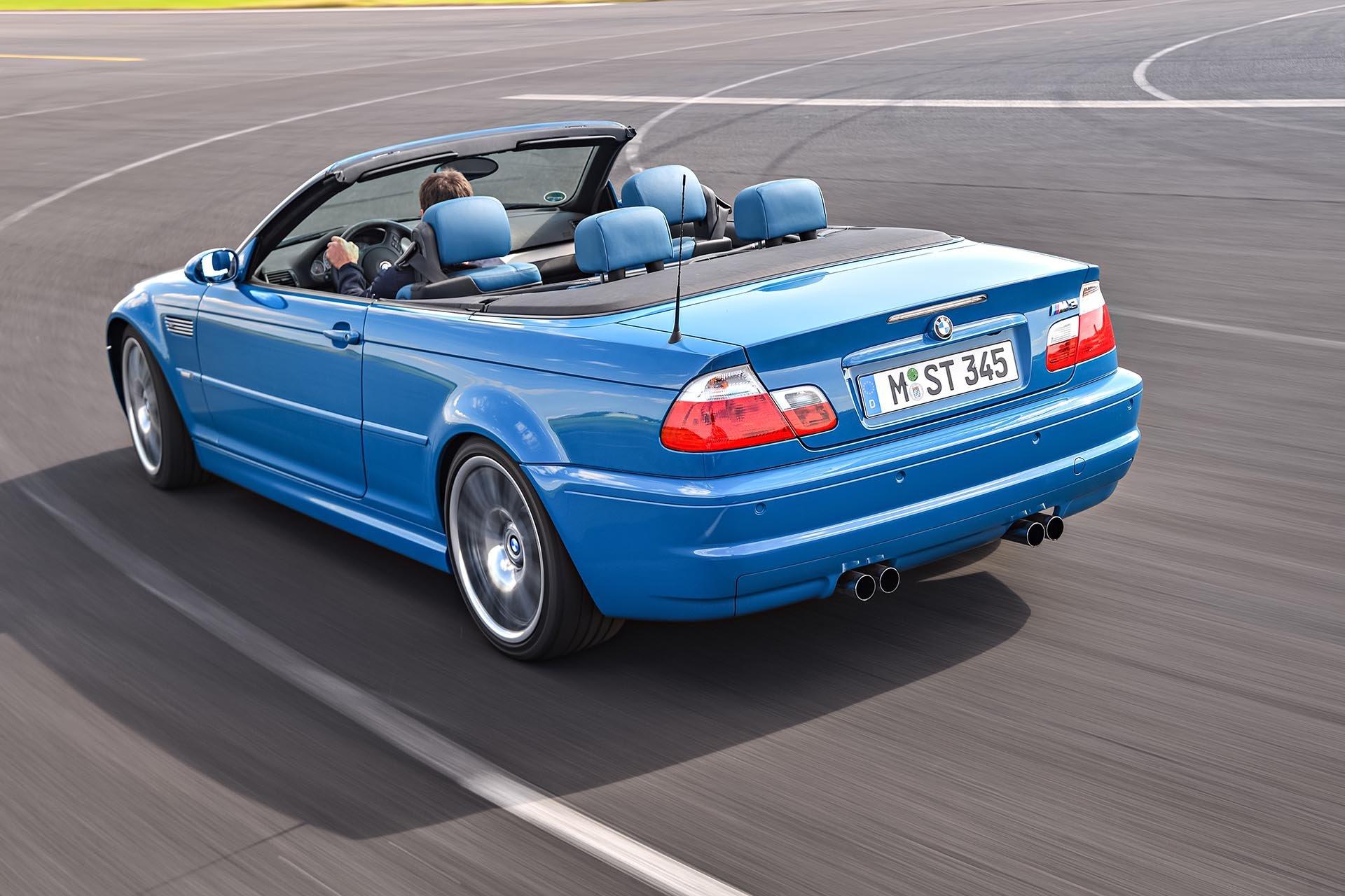 10_BMW E46 M3 convertible rear