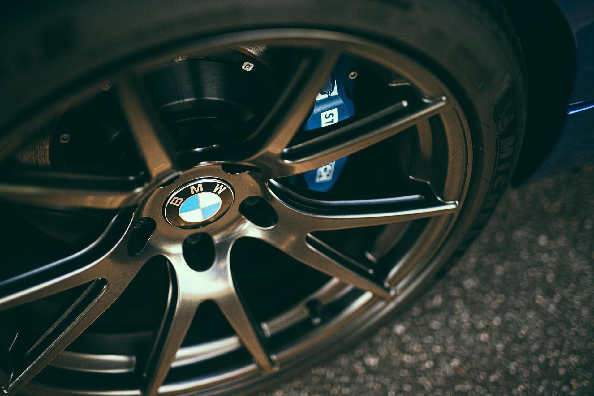 07_BMW E91 335d Wagon Bimmerworld wheel stoptech brakes