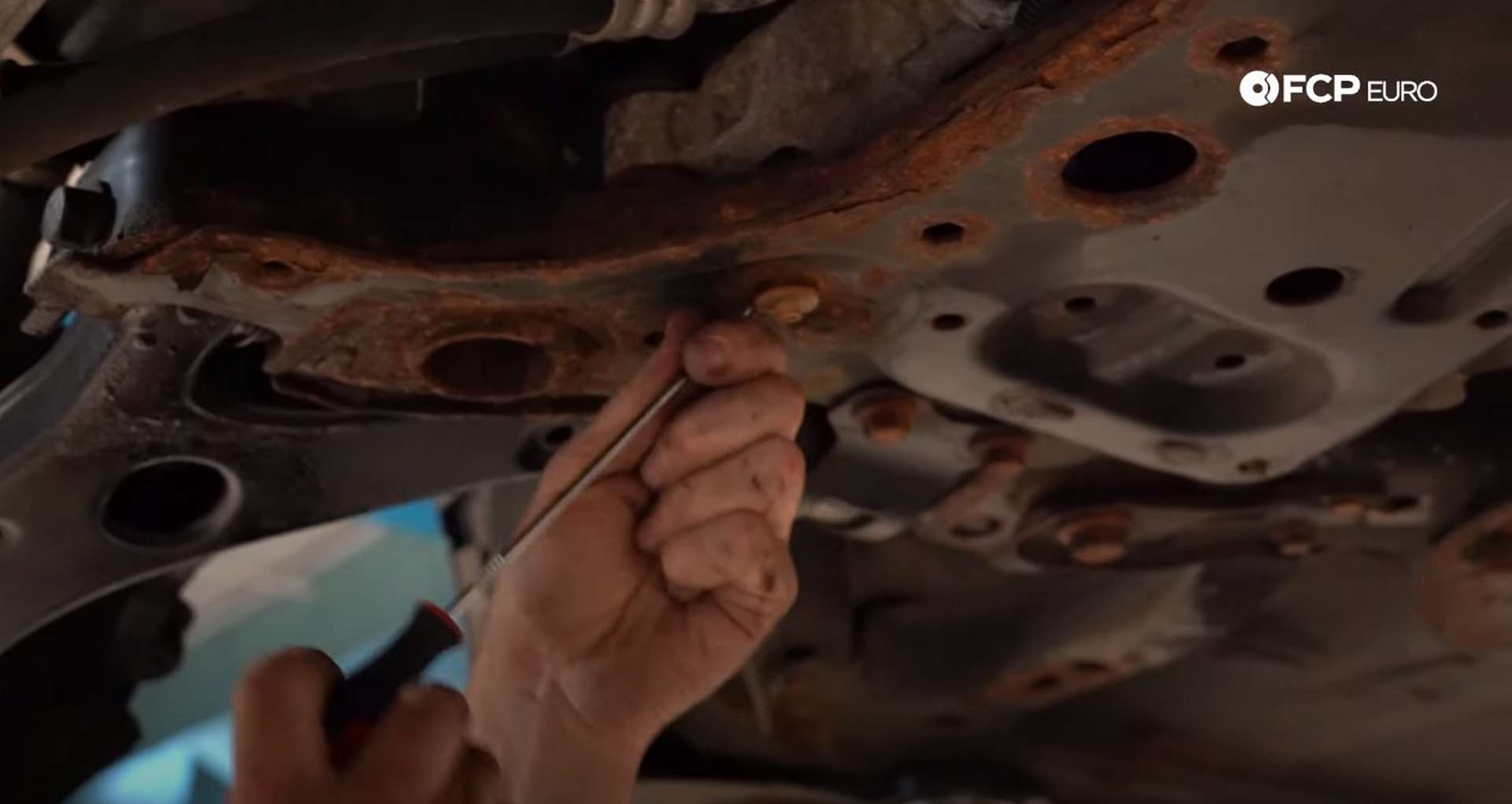 DIY Volvo Alternator and Serpentine Belt Replacement removing the old white clips