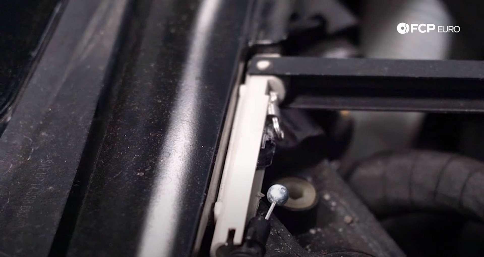 DIY VW GTI Hood Release hood release bracket