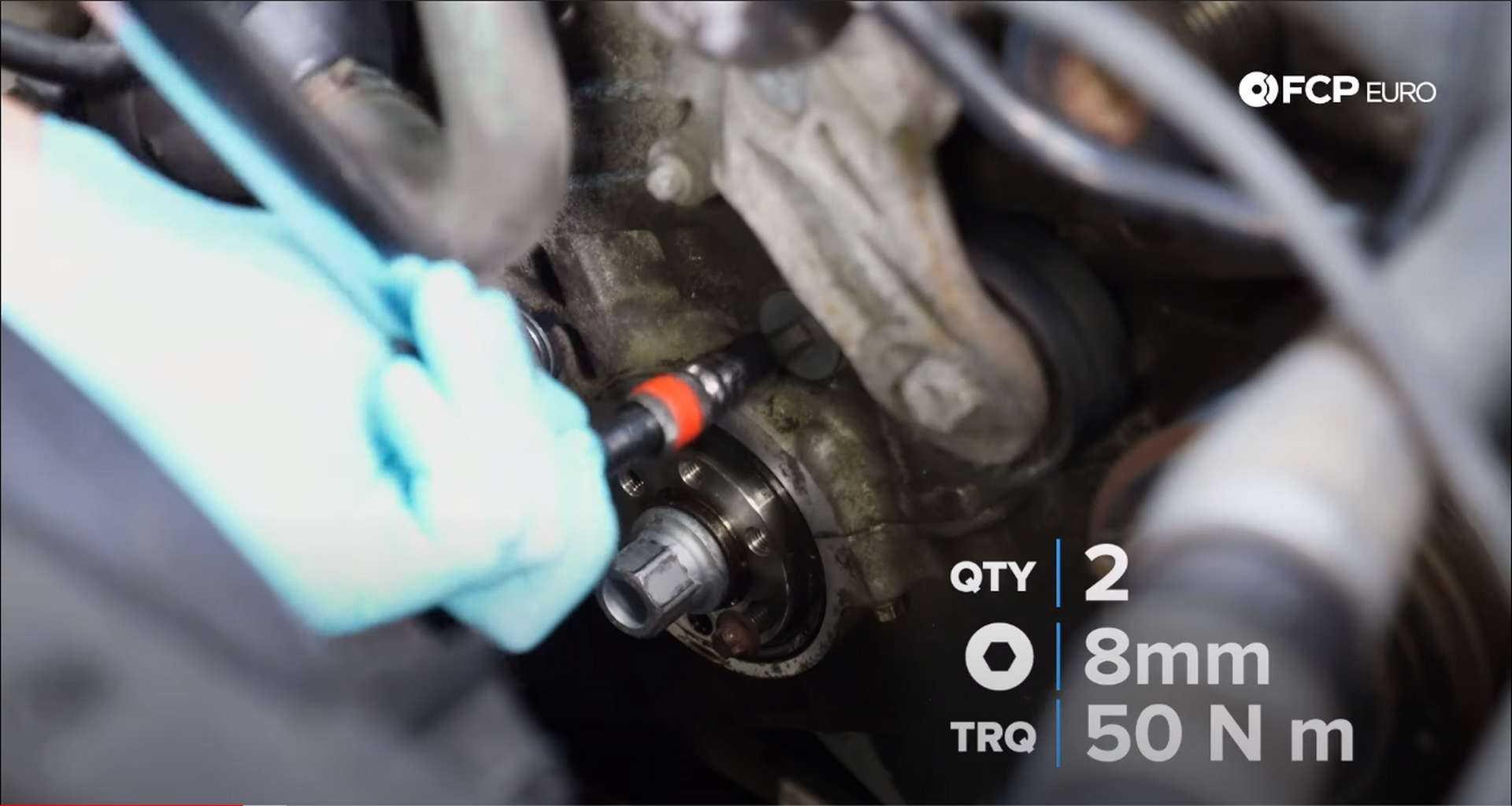 DIY BMW N20 Timing Chain torquing the guide pin plugs
