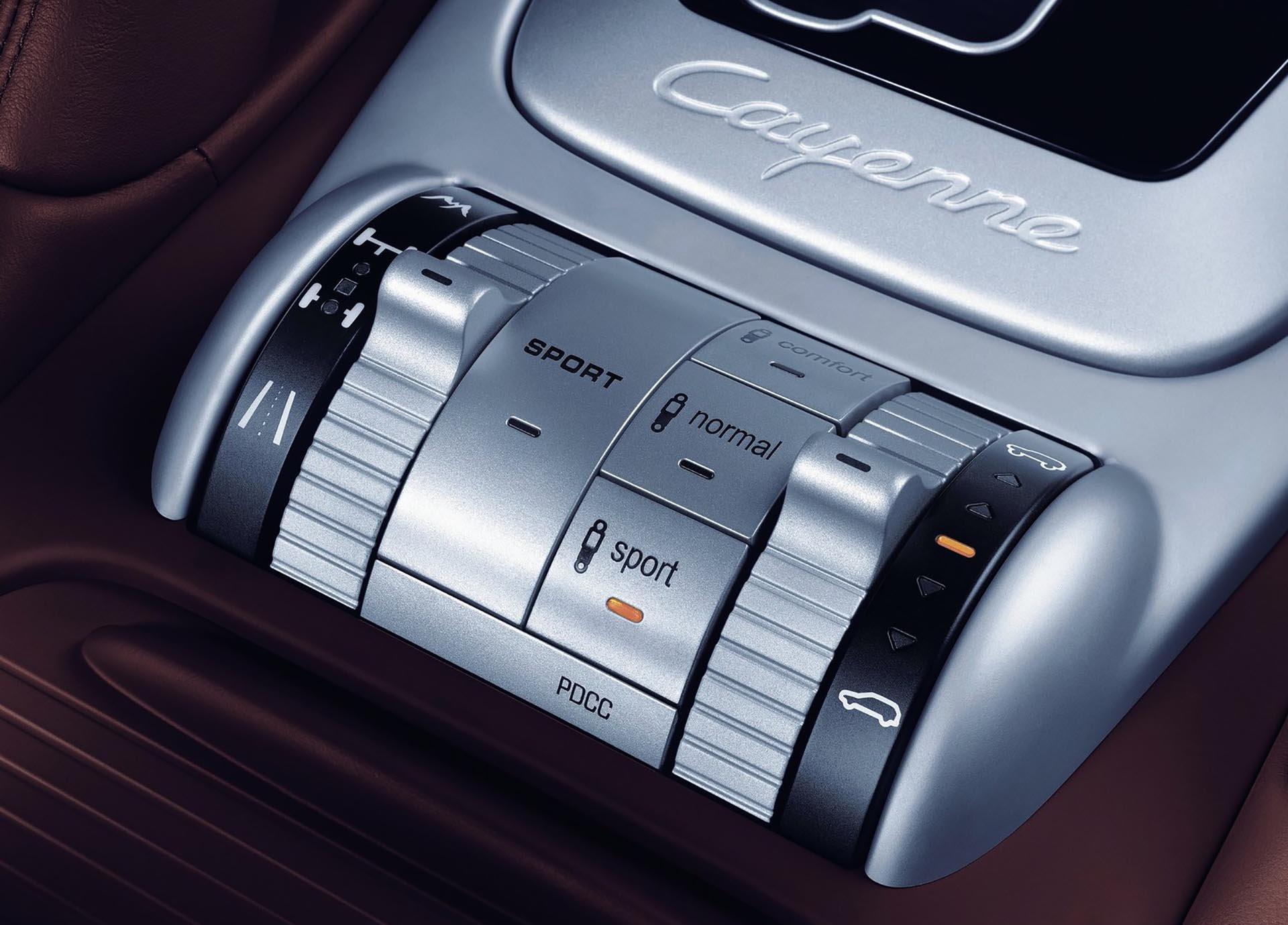 957 Porsche Cayenne PDCC 4wd controls