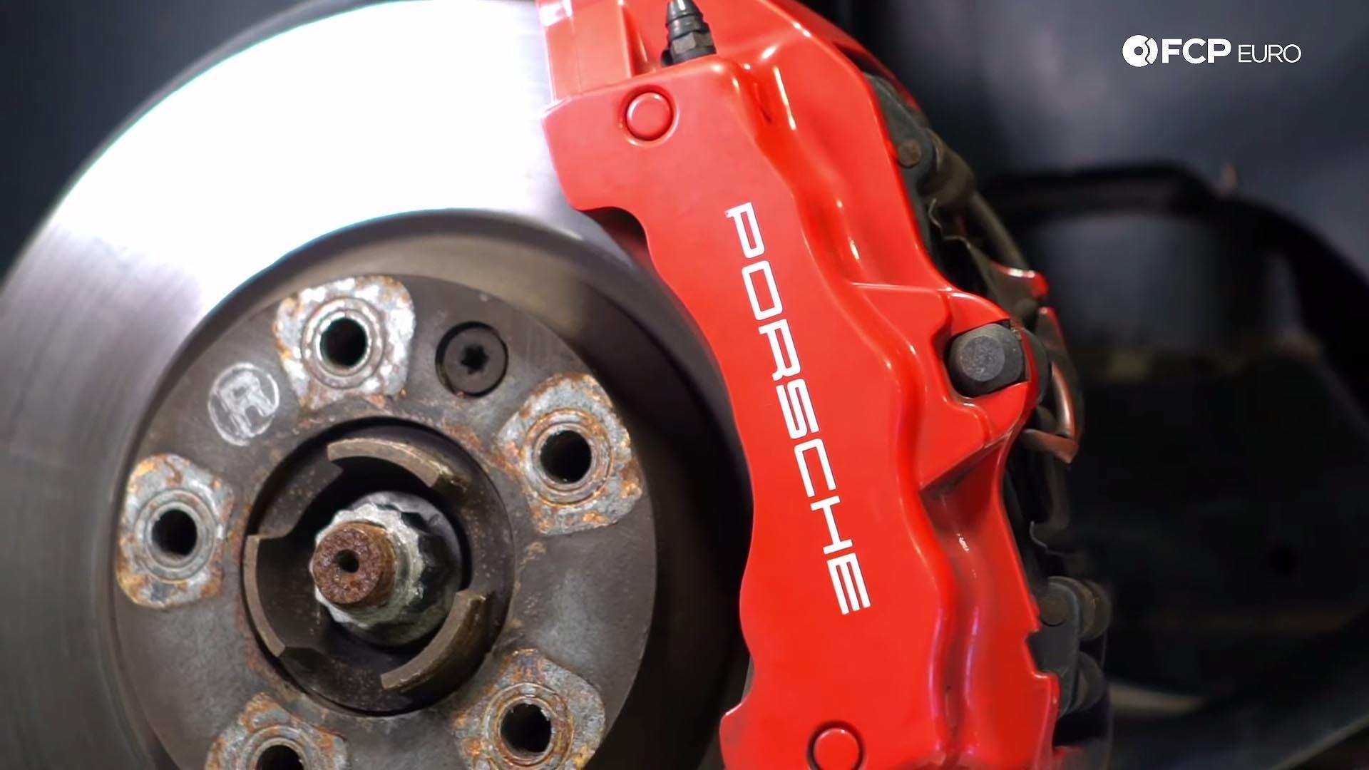 955 957 Porsche Cayenne brake caliper