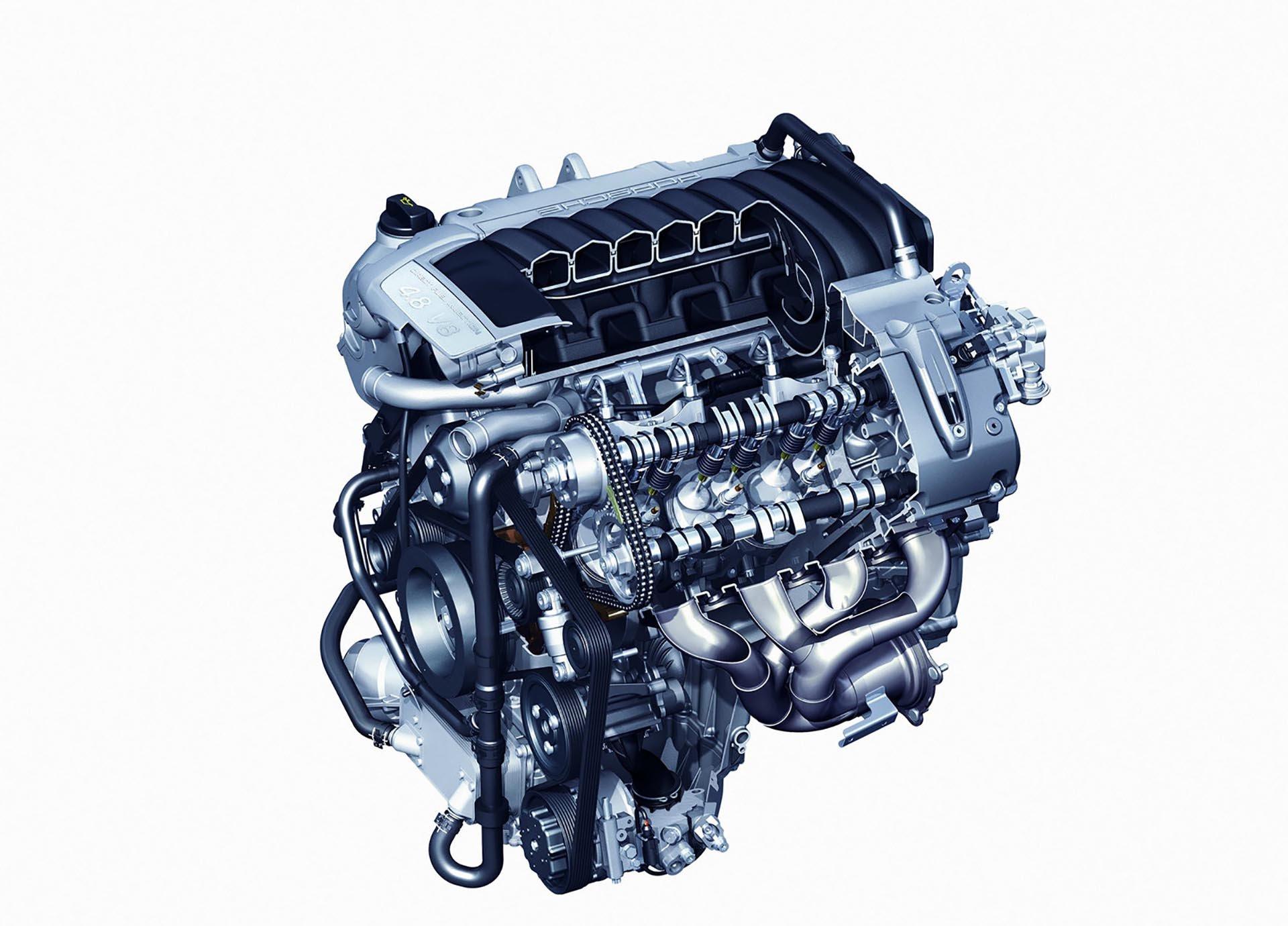 957 Porsche Cayenne 4.8 V8 Engine Diagram