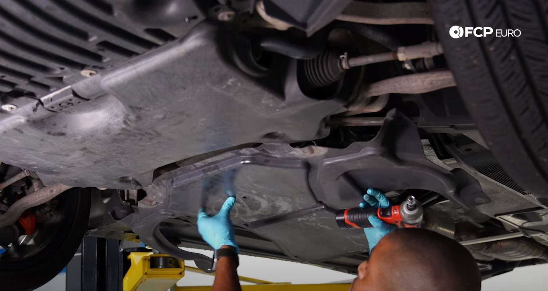 07-DIY-Merc-M271-Oil-Change-Draining-Oils