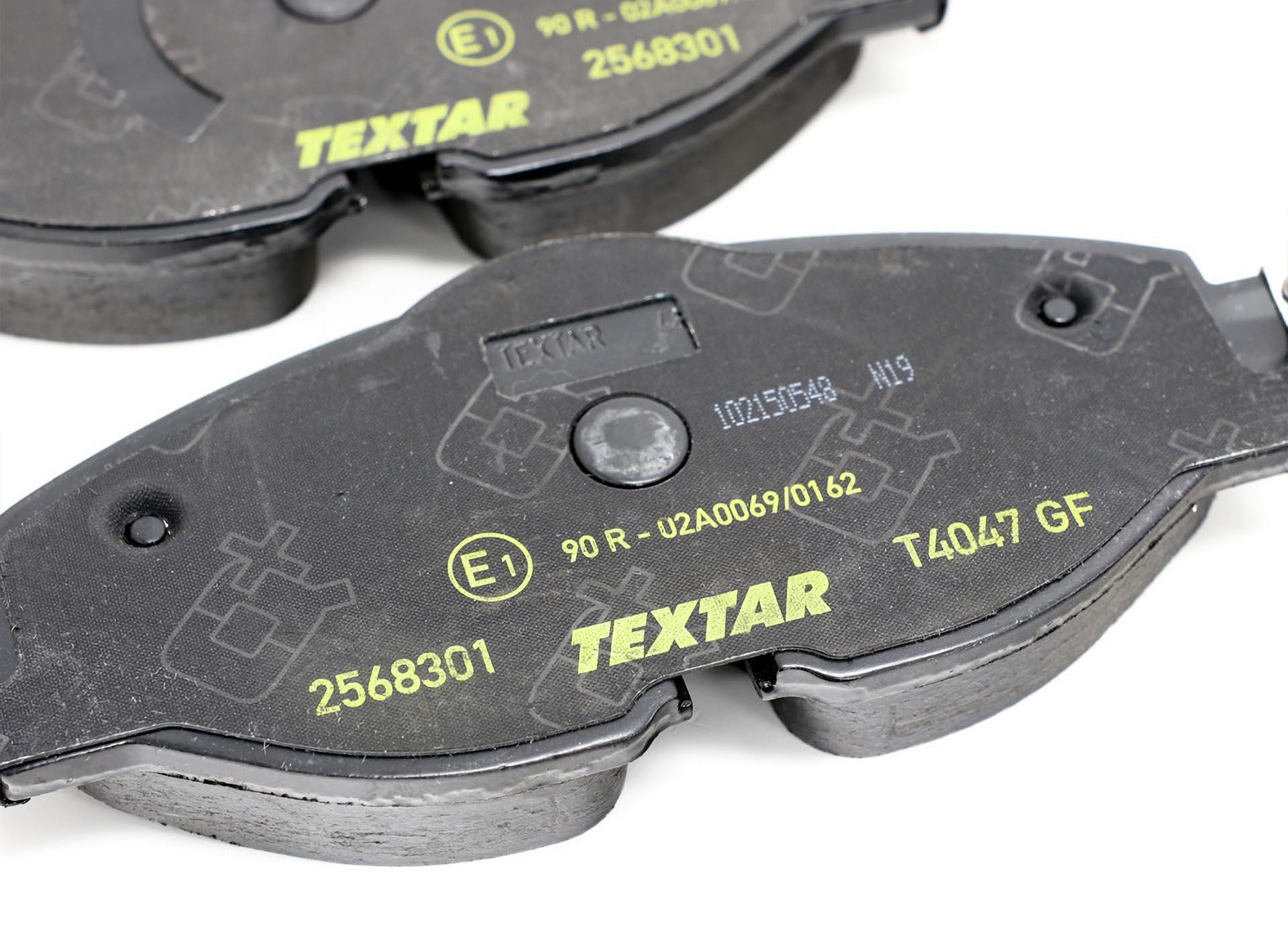 01.5Textar Q+ brake pades