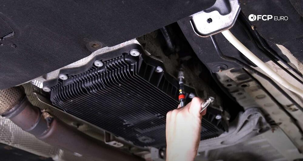Tech Tip ZF 8HP Neutral Safety Switch Bypass tightening the bolt to move the foot up