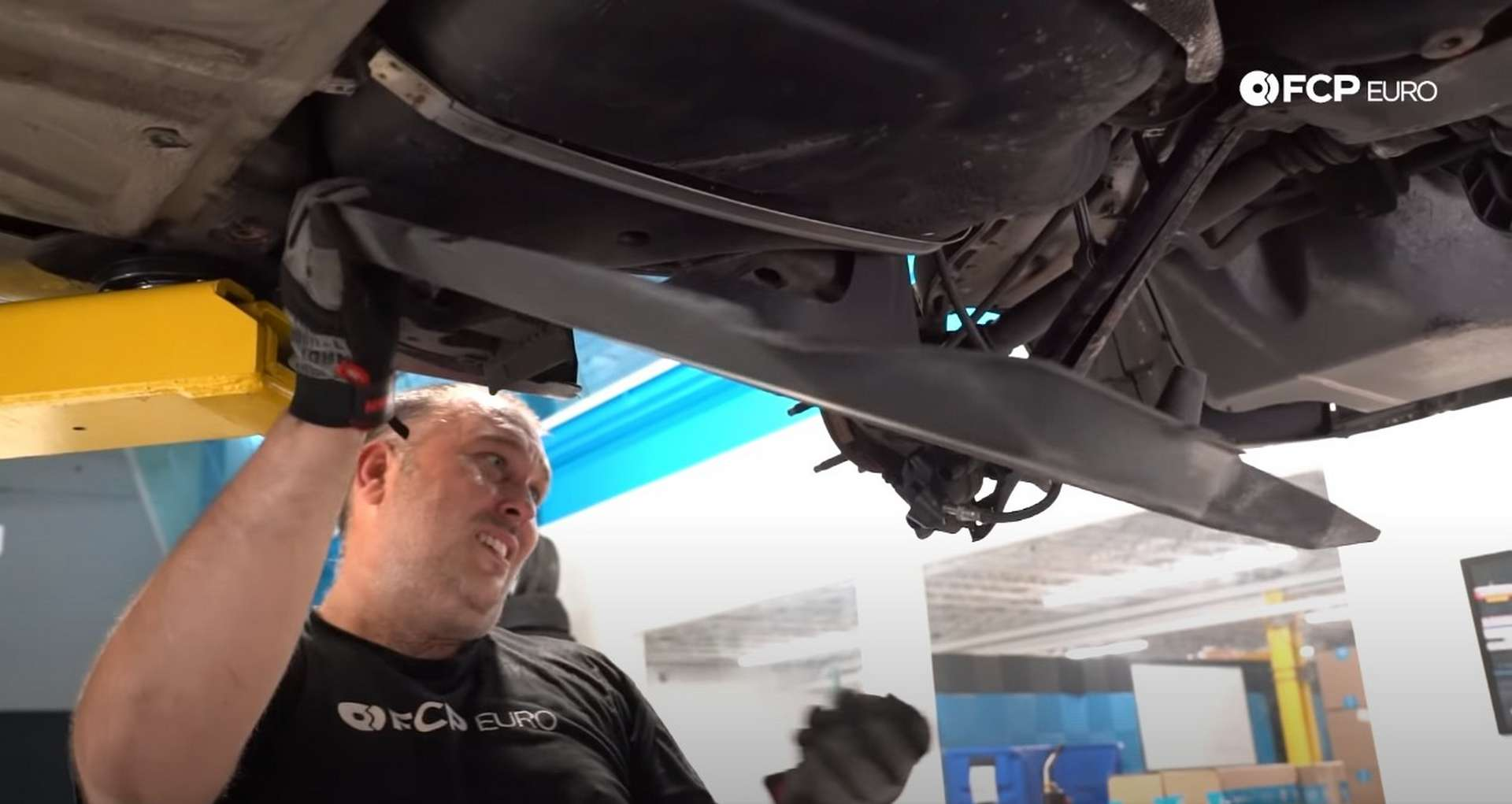 DIY E46 BMW M3 Rear Subframe Refresh Part 1 removing the splash shields