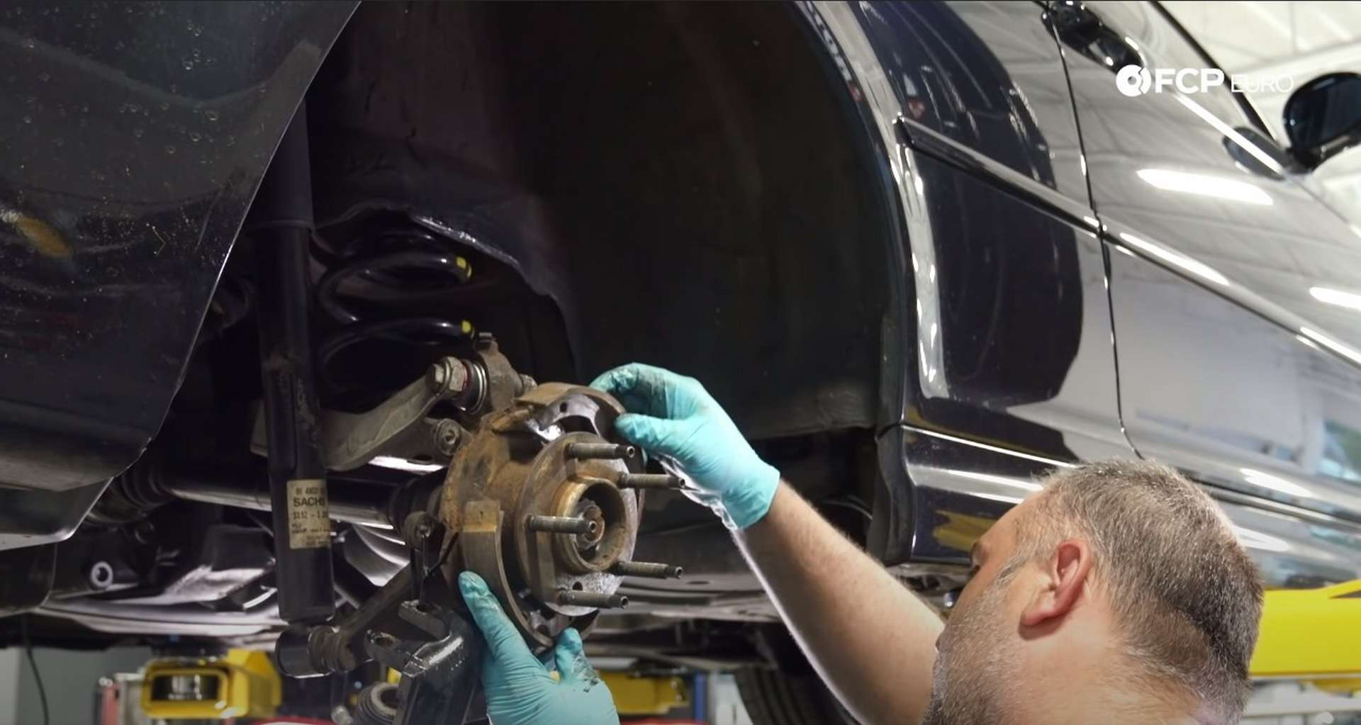 DIY E46 BMW M3 Rear Subframe Refresh Part 3 installing the shoe expander