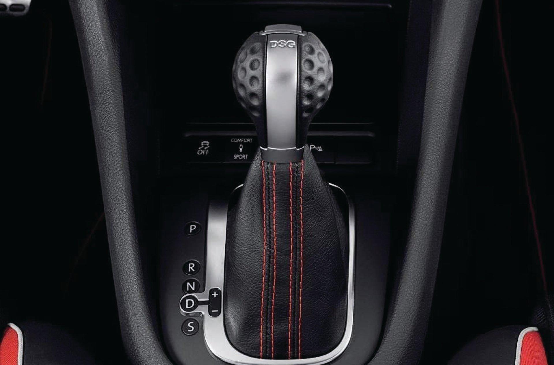 06_VW Audi DSG S Tronic gear selector