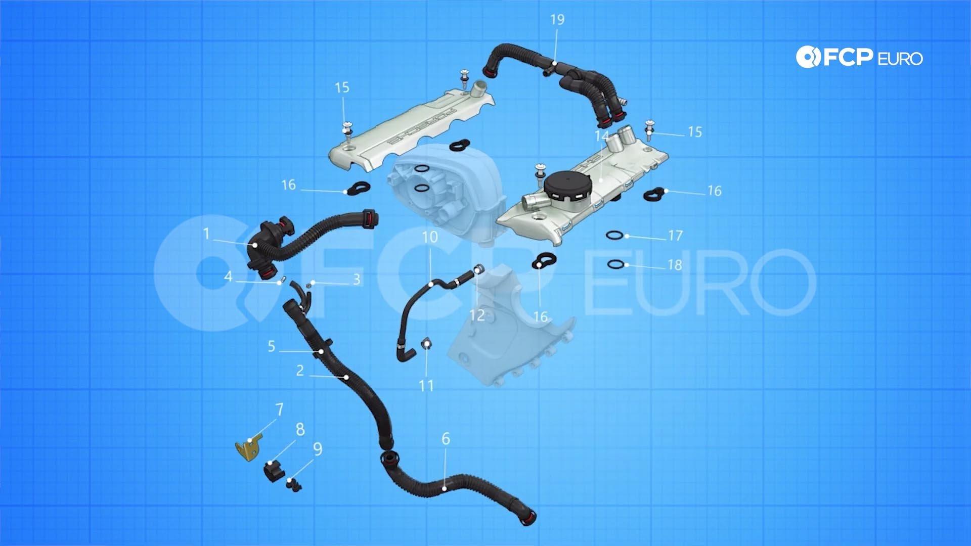 05.1_Porsche Cayenne 4.8 V8 PCV repair diagram