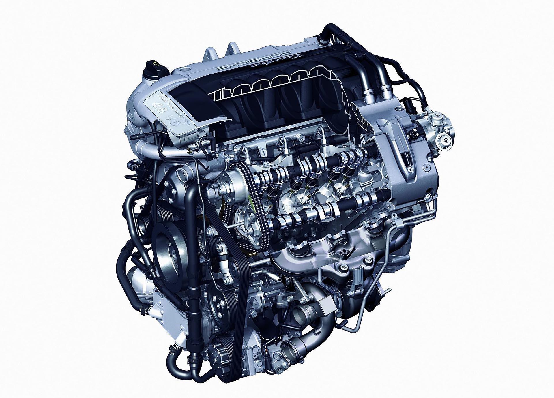 05_Porsche 957 Cayenne Turbo Engine DIagram