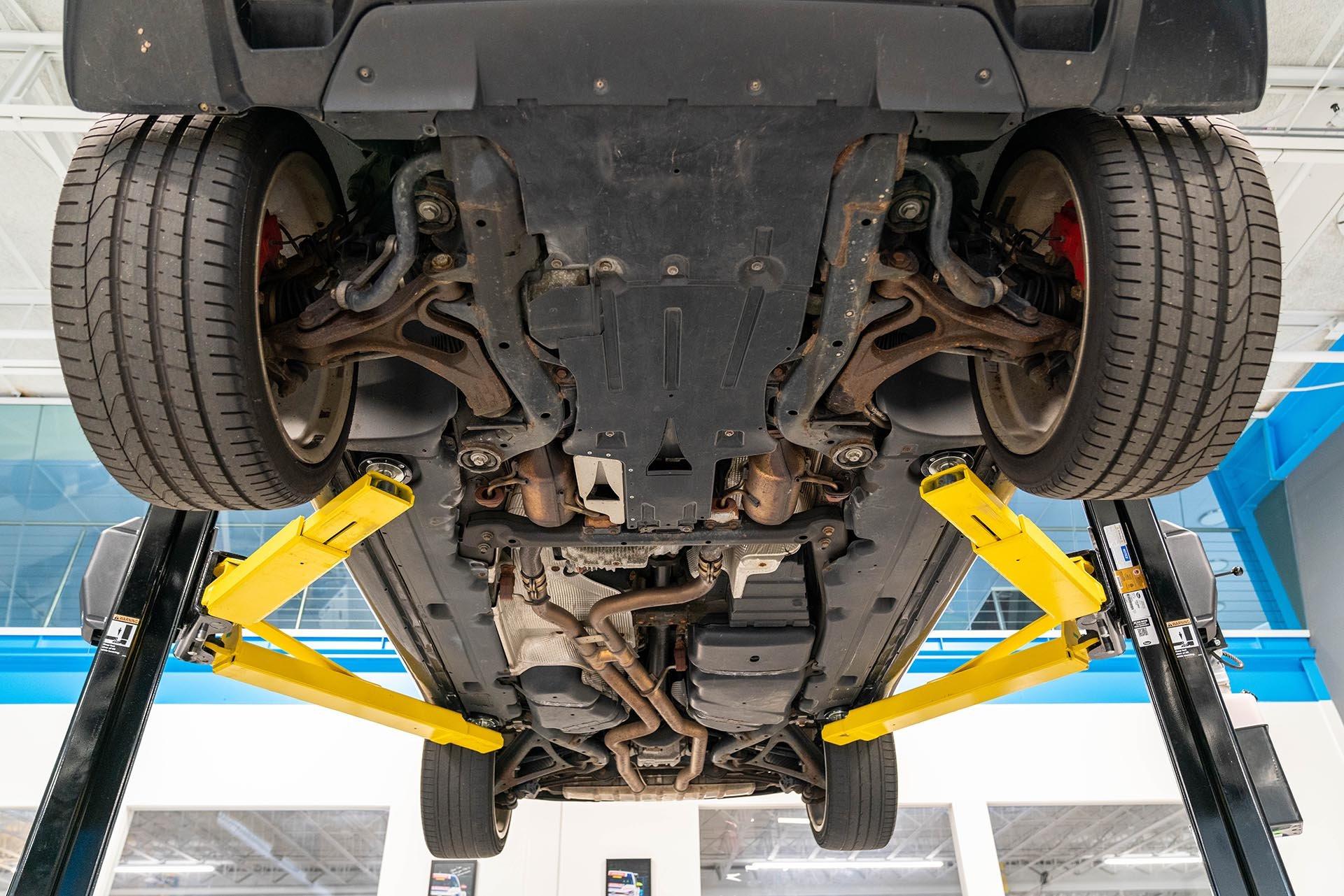 03.5_Porsche Cayenne 957 GTS underbody and suspension