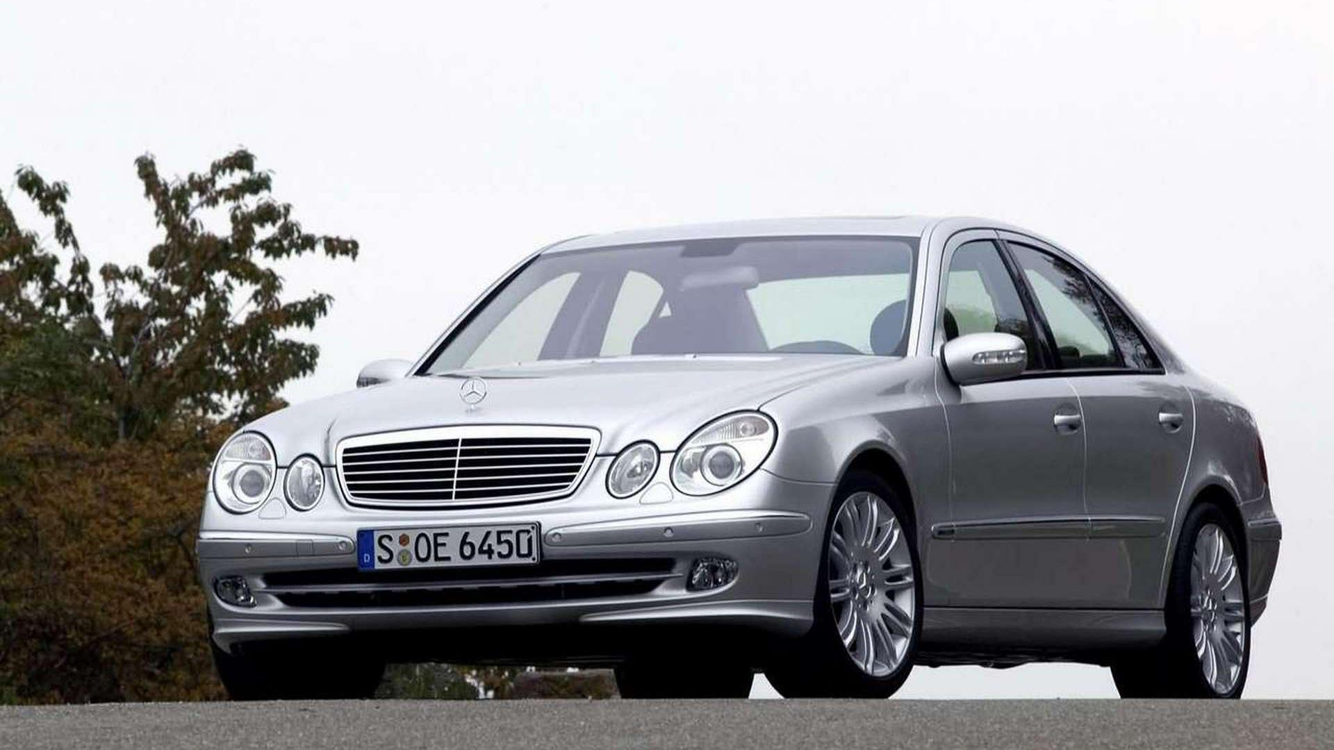 Cheap European Luxury Vehicles W211 front view