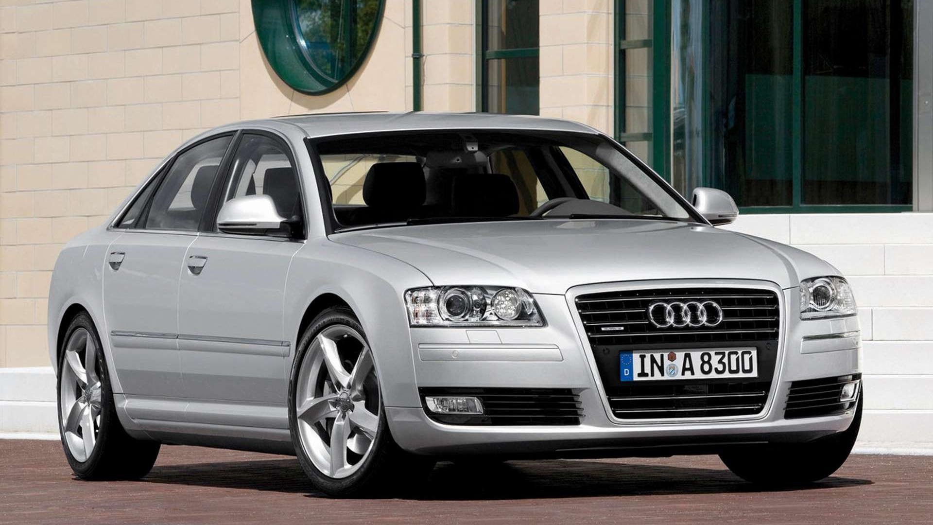 Cheap European Luxury Vehicles Audi A8 front view