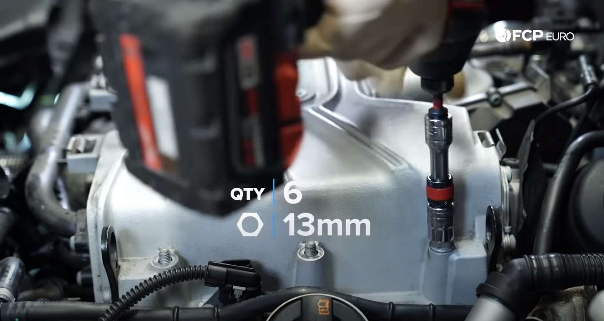DIY Audi 3.0t Walnut Blasting Intake Valves removing the supercharger nuts