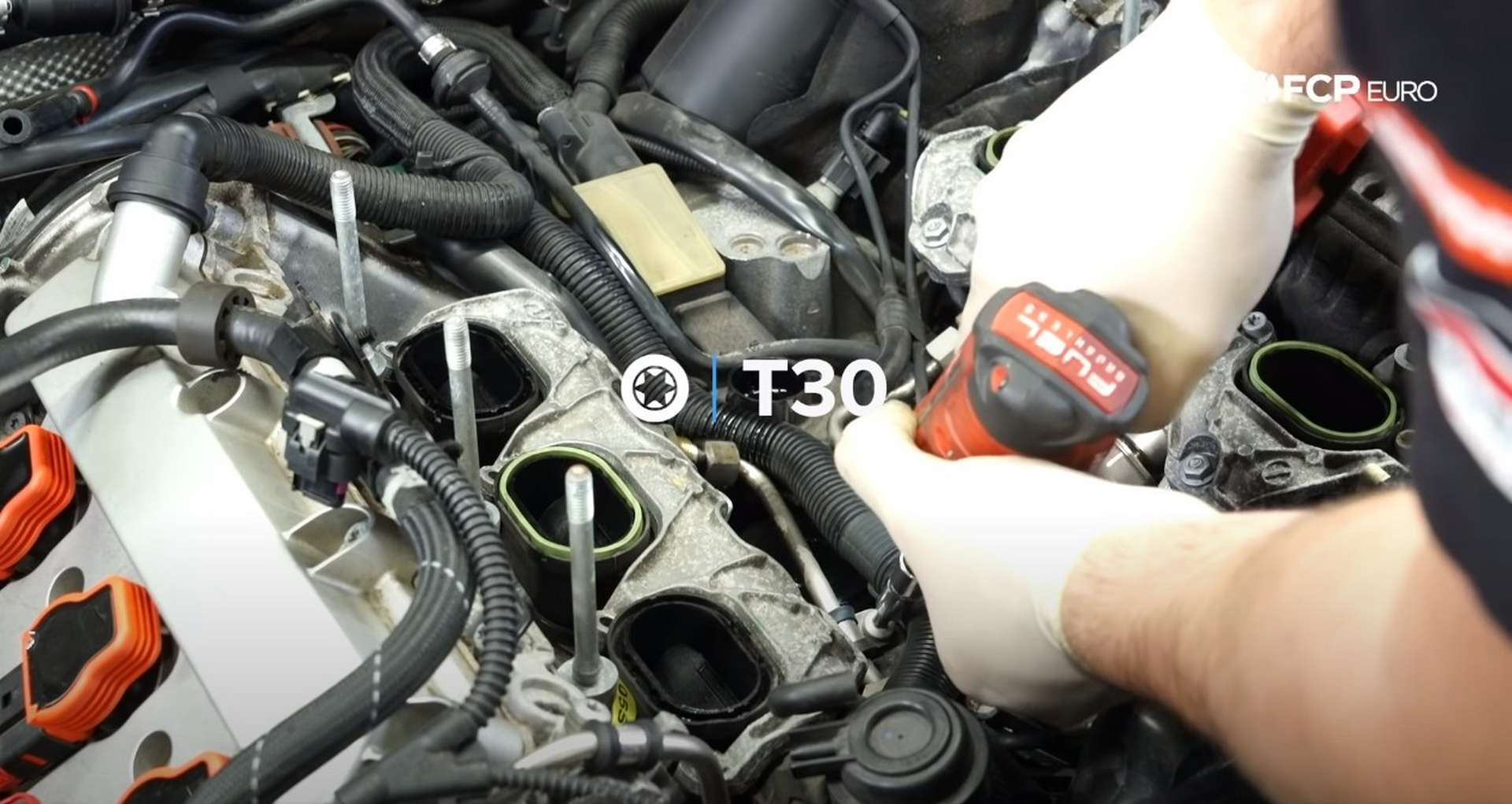 DIY Audi 3.0T PCV/AOS Replacement removing the supercharger