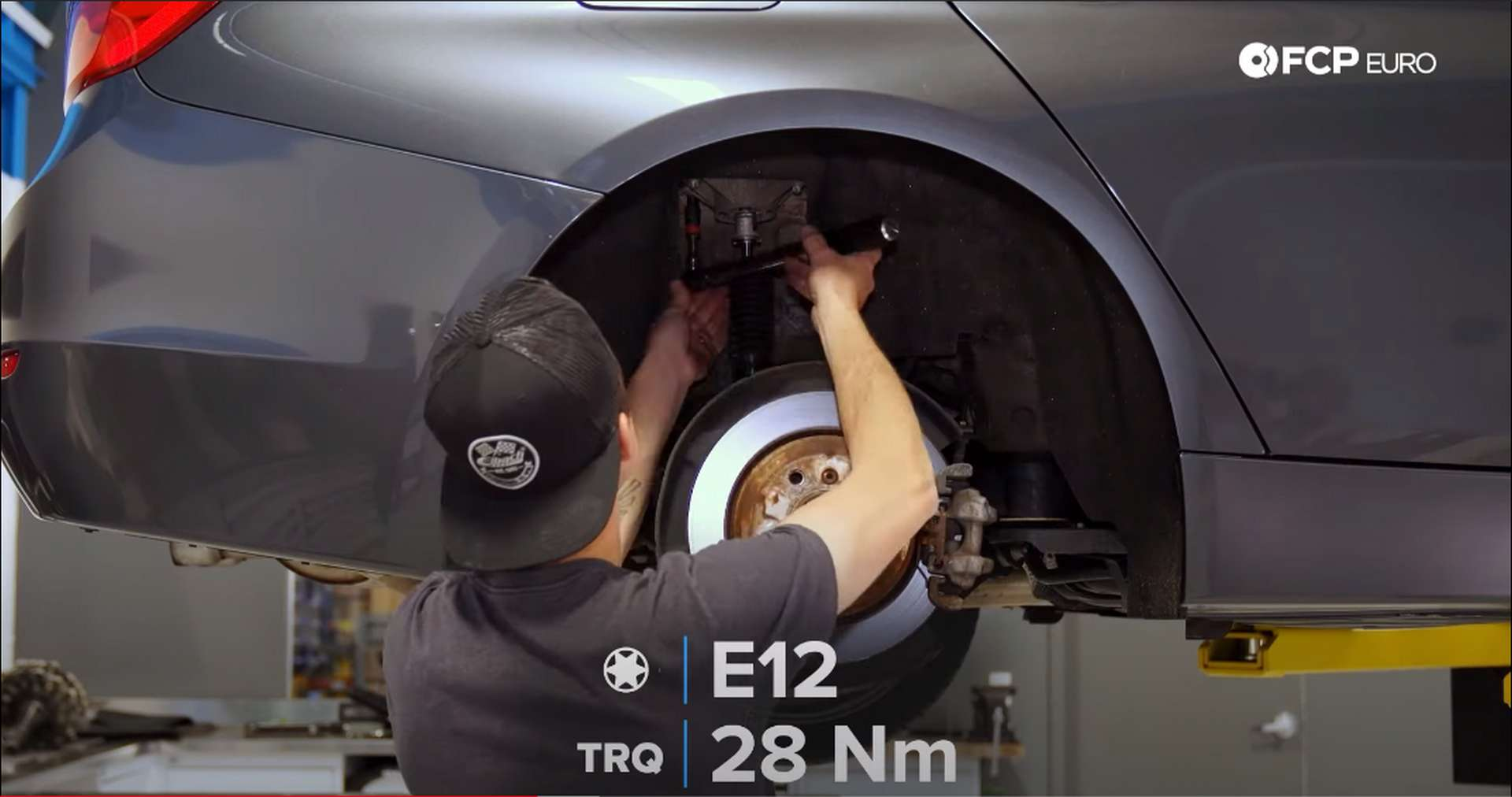 DIY BMW F30 xDrive Coilover new shock torque