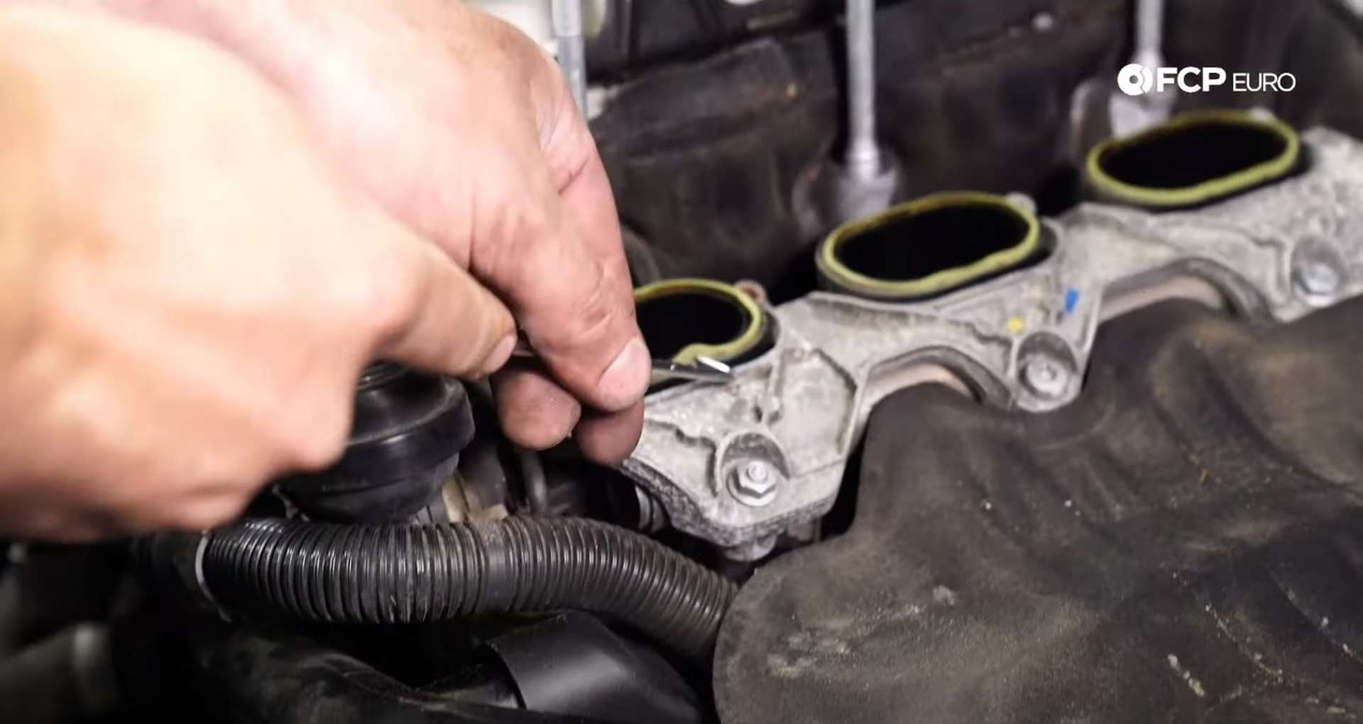 DIY Audi B8.5 Water Pump and Thermostat Replacement replacing the intake manifold gaskets