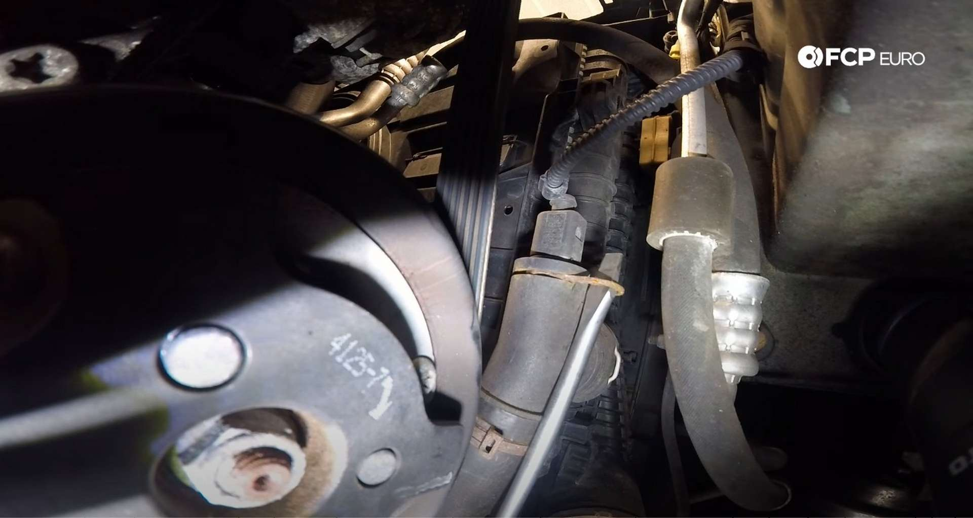 DIY MK7 VW GTI Turbocharger Upgrade unlocking the coolant temp sensor