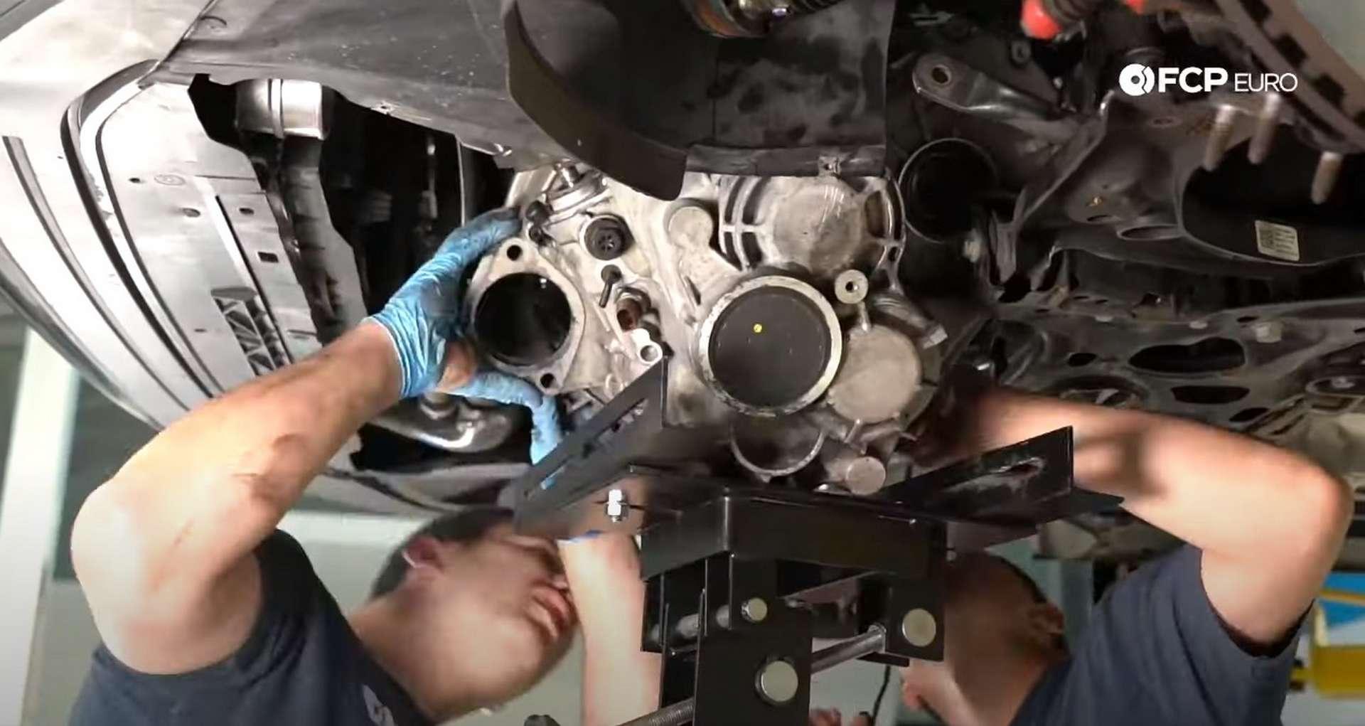 43-DIY_VW_GTI_Clutch-Job-Removing-Transmission