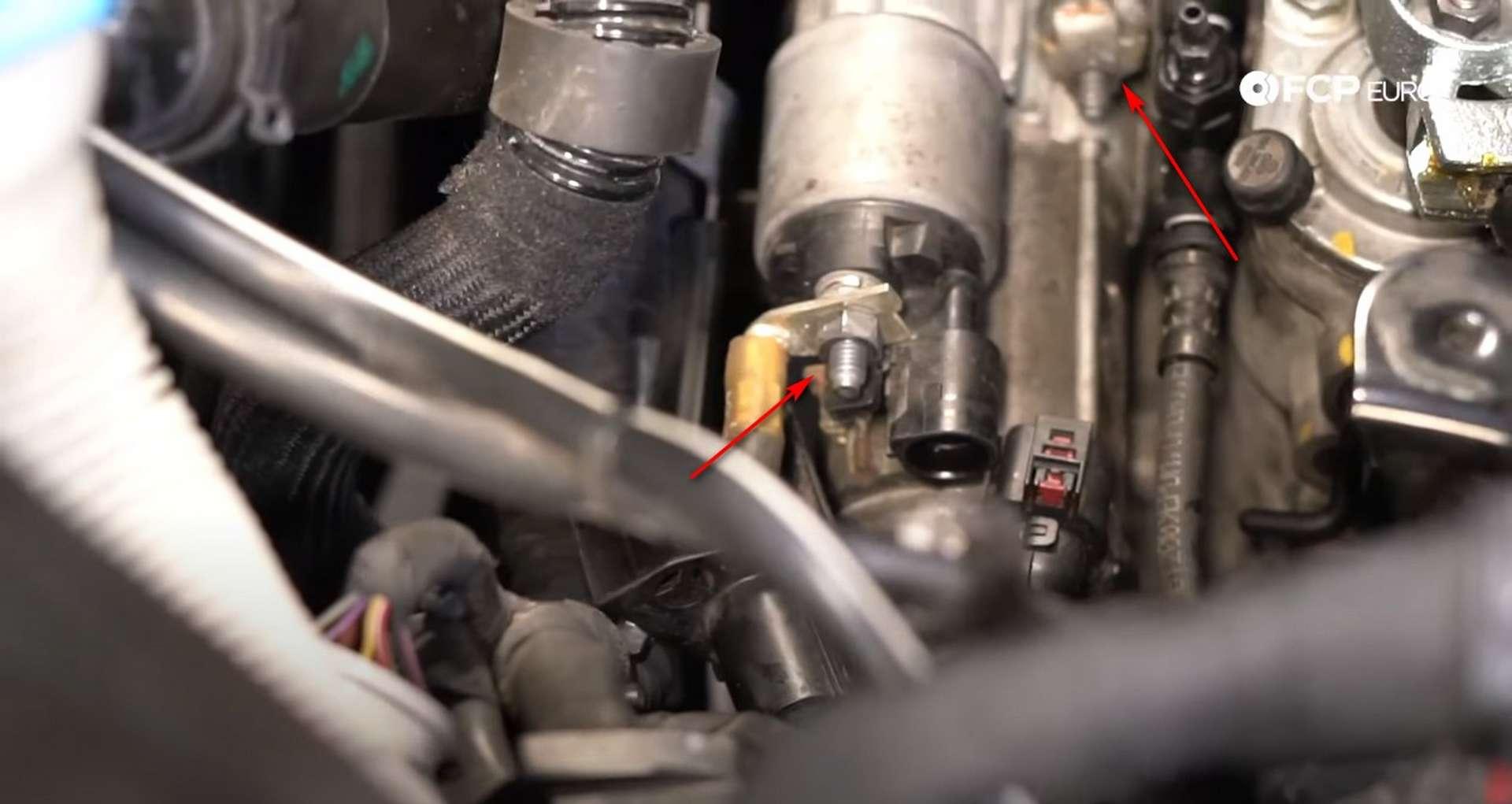 70-DIY_VW_GTI_Clutch-Job-Reinstalling-Buttoning-Engine-Bay