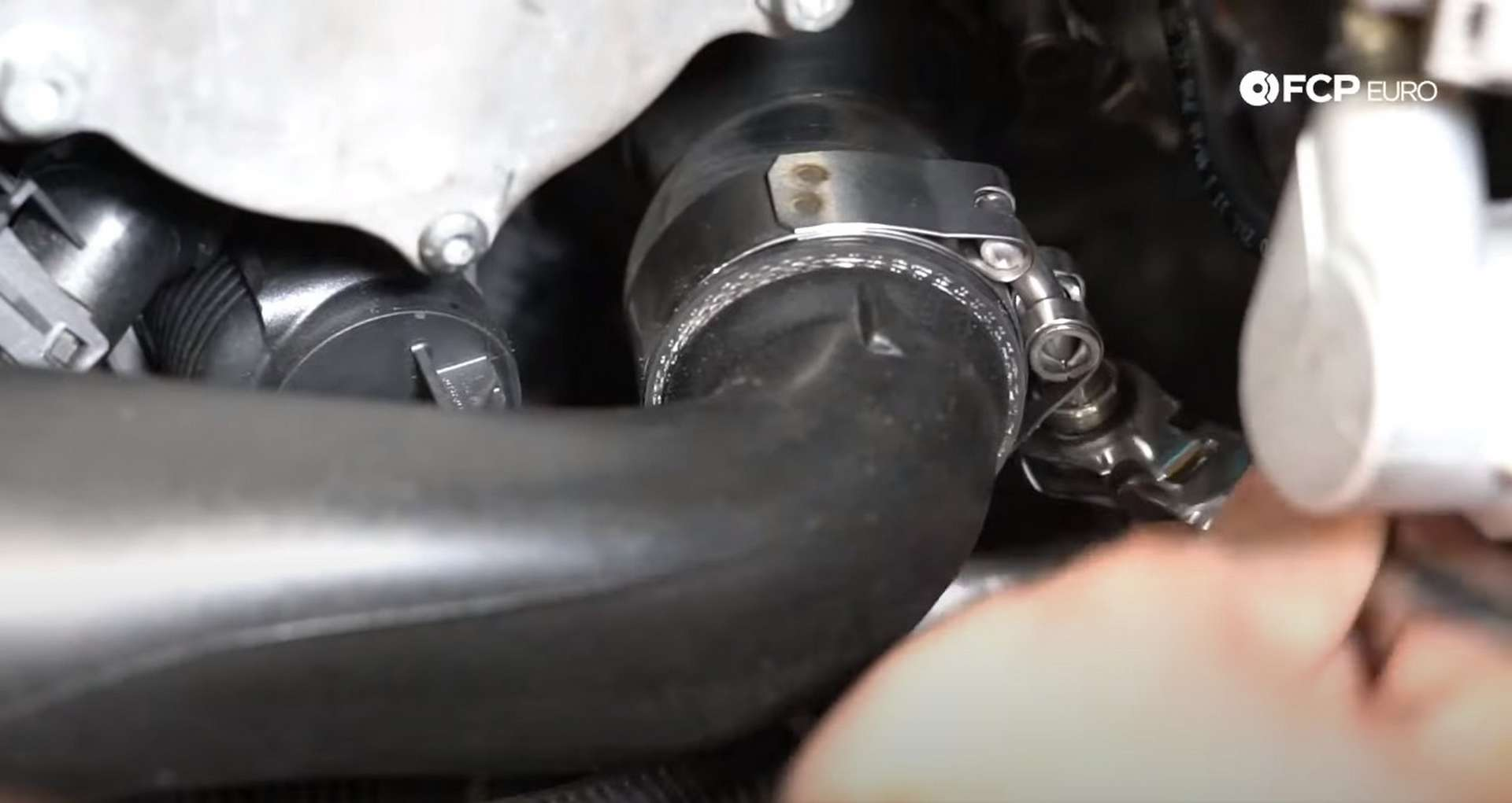71-DIY_VW_GTI_Clutch-Job-Reinstalling-Buttoning-Engine-Bay