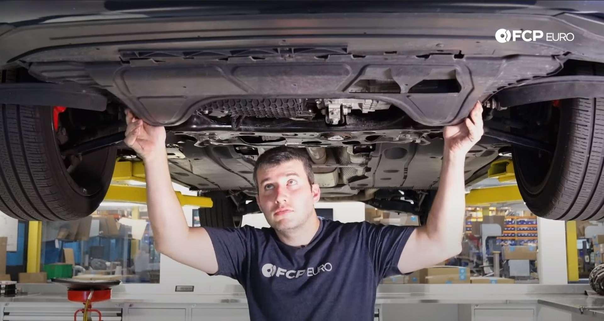 75-DIY_VW_GTI_Clutch-Job-Fittin-Belly-Pan