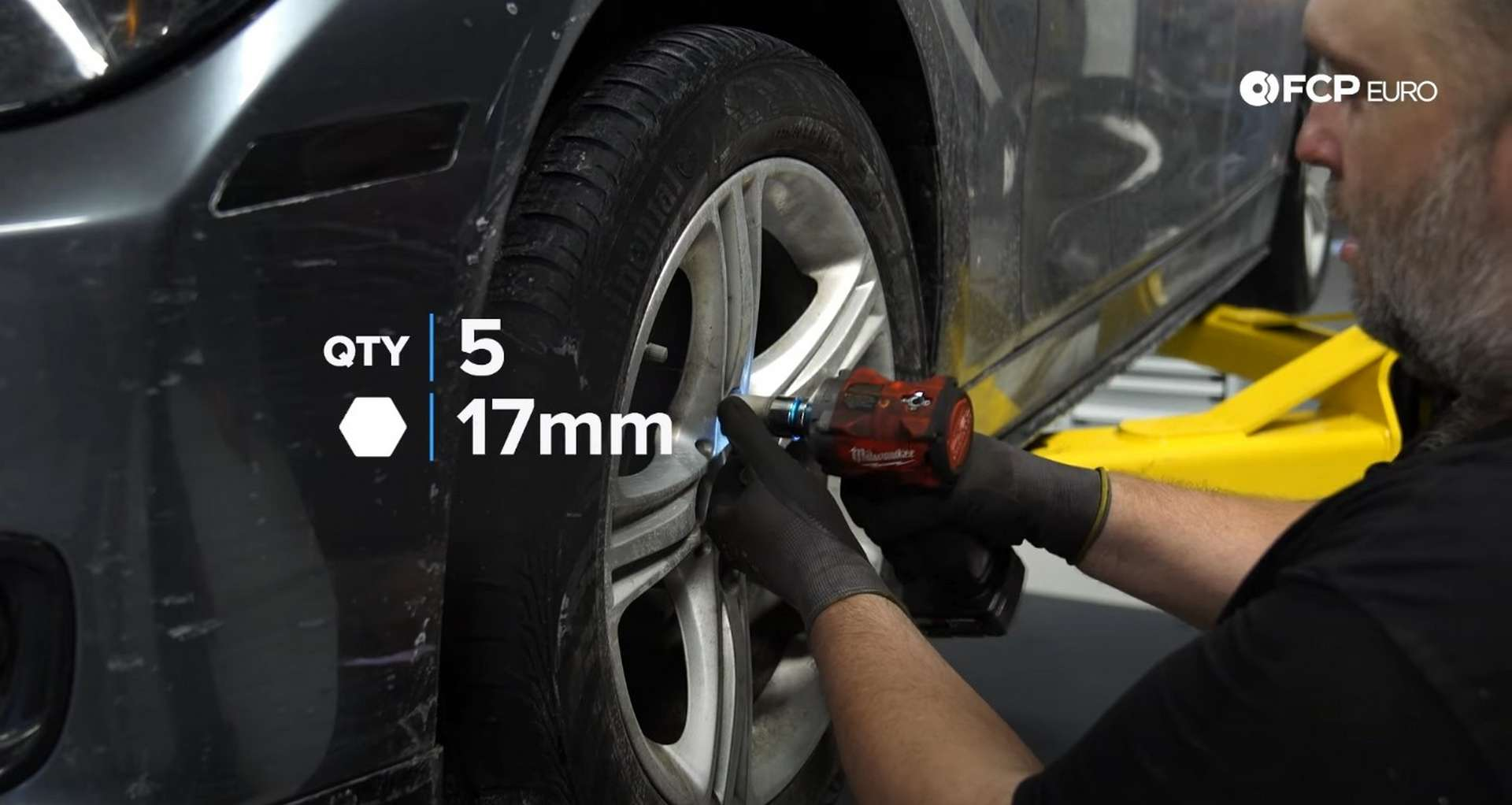 01-DIY-BMW-F30-Front-Brake-Service_Removing-The-Caliper