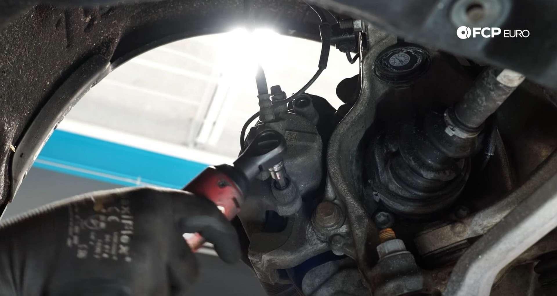 04-DIY-BMW-F30-Front-Brake-Service_Removing-The-Caliper