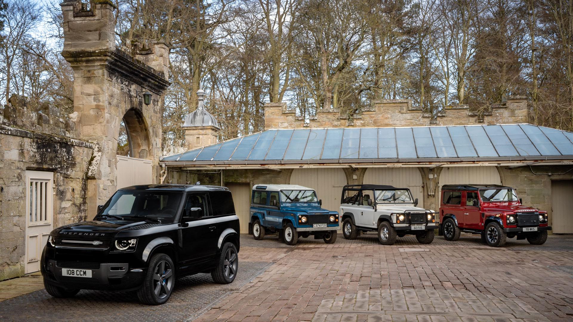Two-Door VS Four-Door land Rover old and new