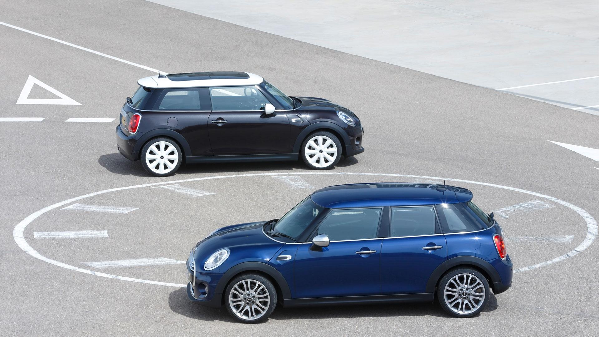 Two-Door VS Four-Door F55 and F56