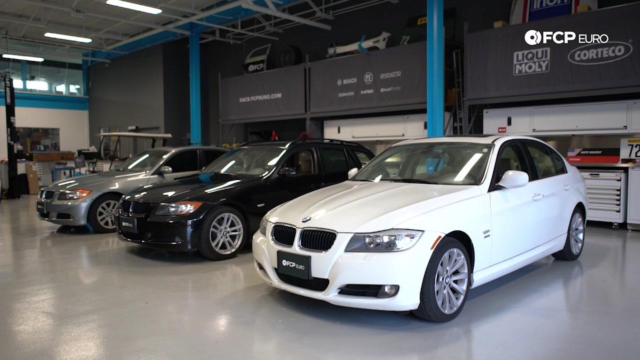 EVERGREEN BMW E90 VS F30 group shot