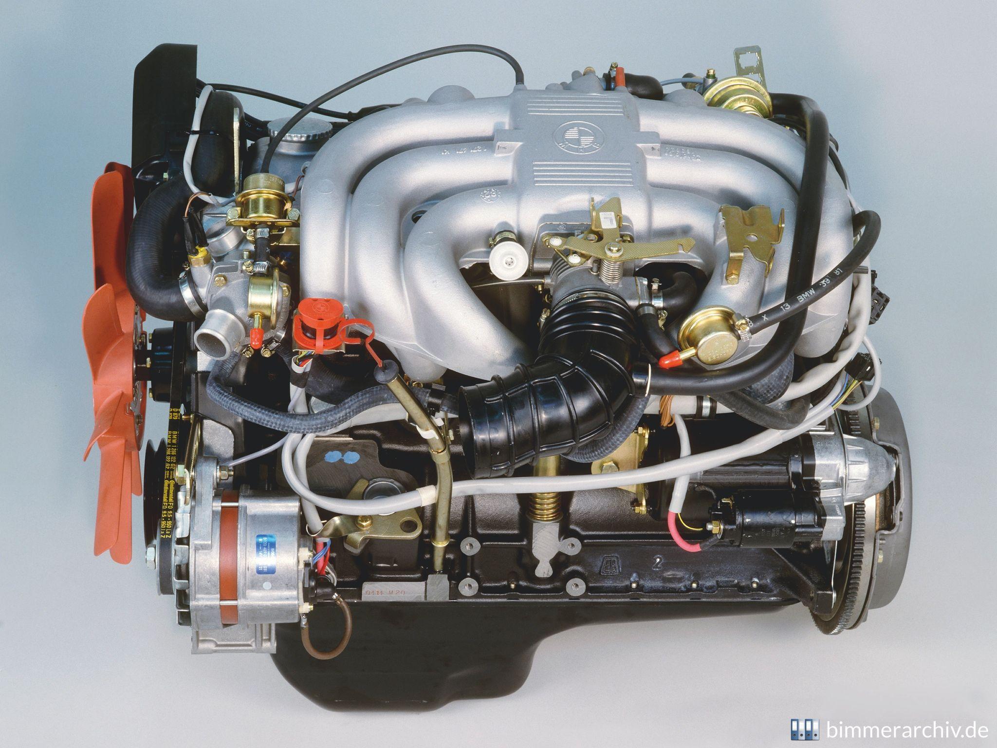 Affordable Vintage Models BMW E28 engine