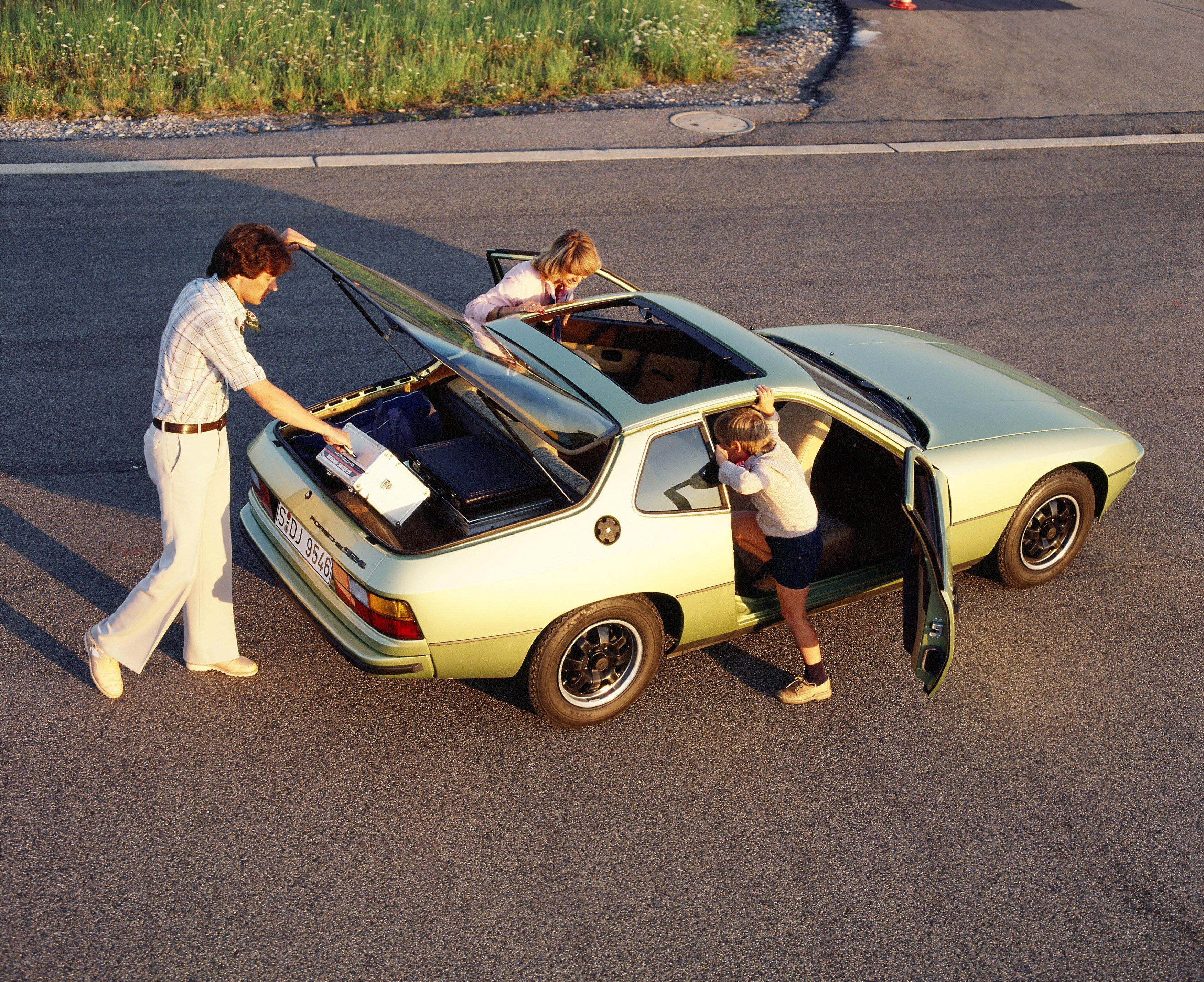 Affordable Vintage Models Porsche 924 open hatch