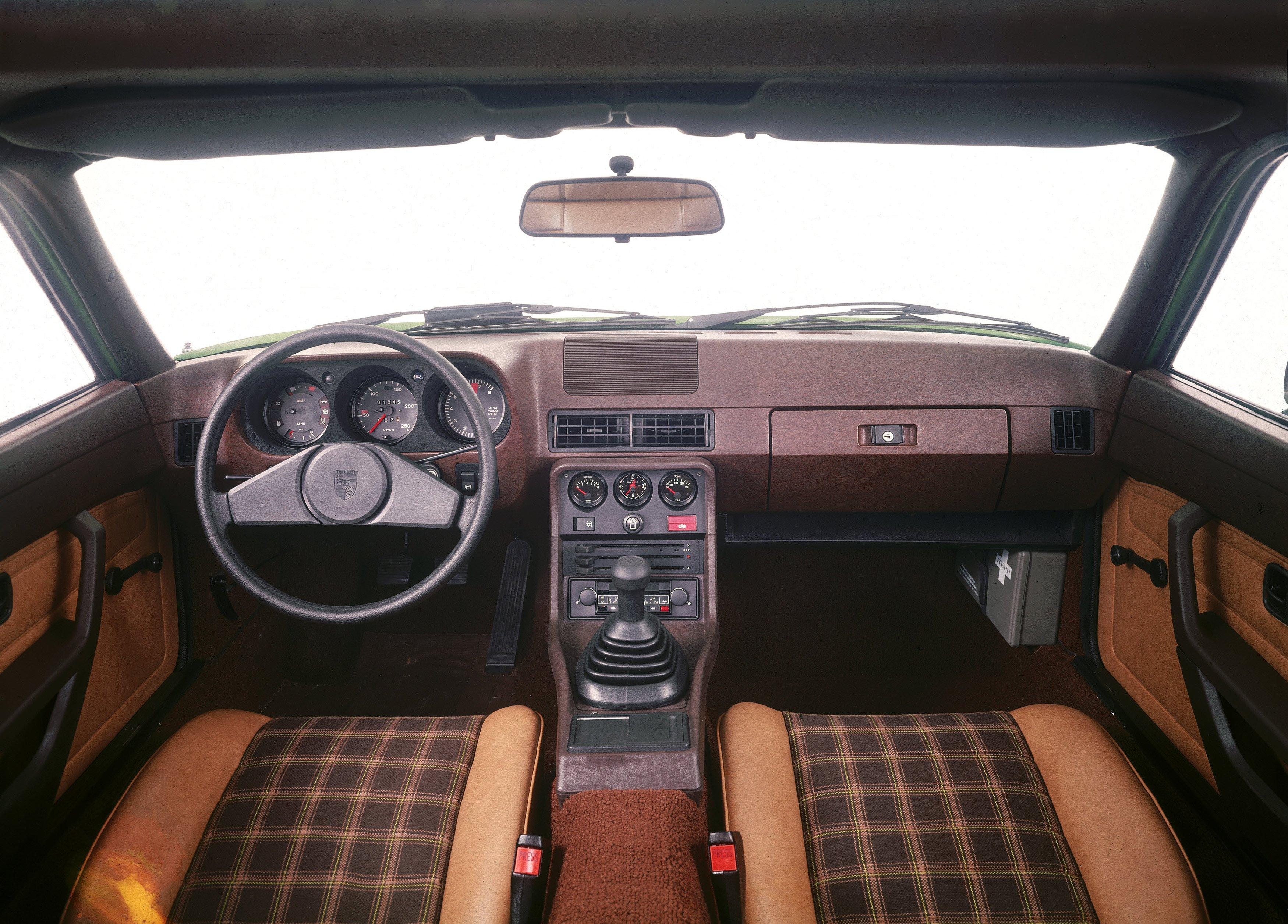 Affordable Vintage Models Porsche 924 interior