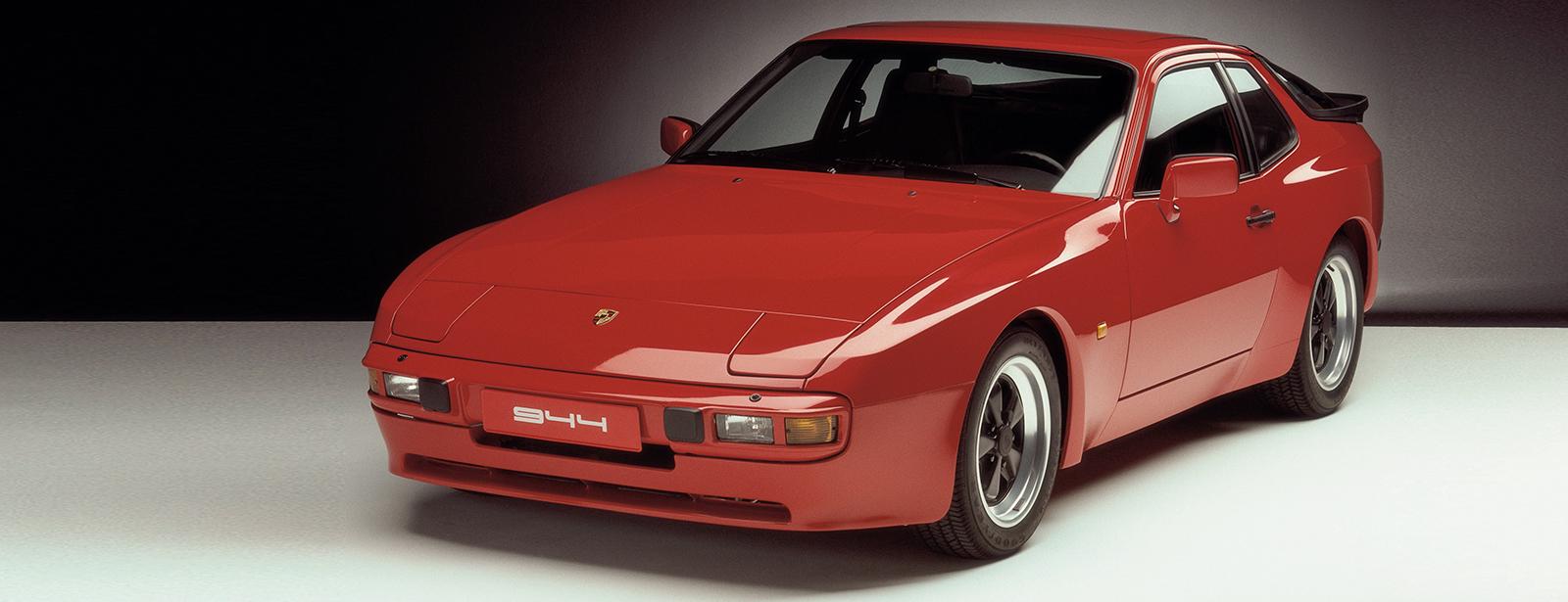 Affordable Vintage Models Porsche 944 rear 3-quarter