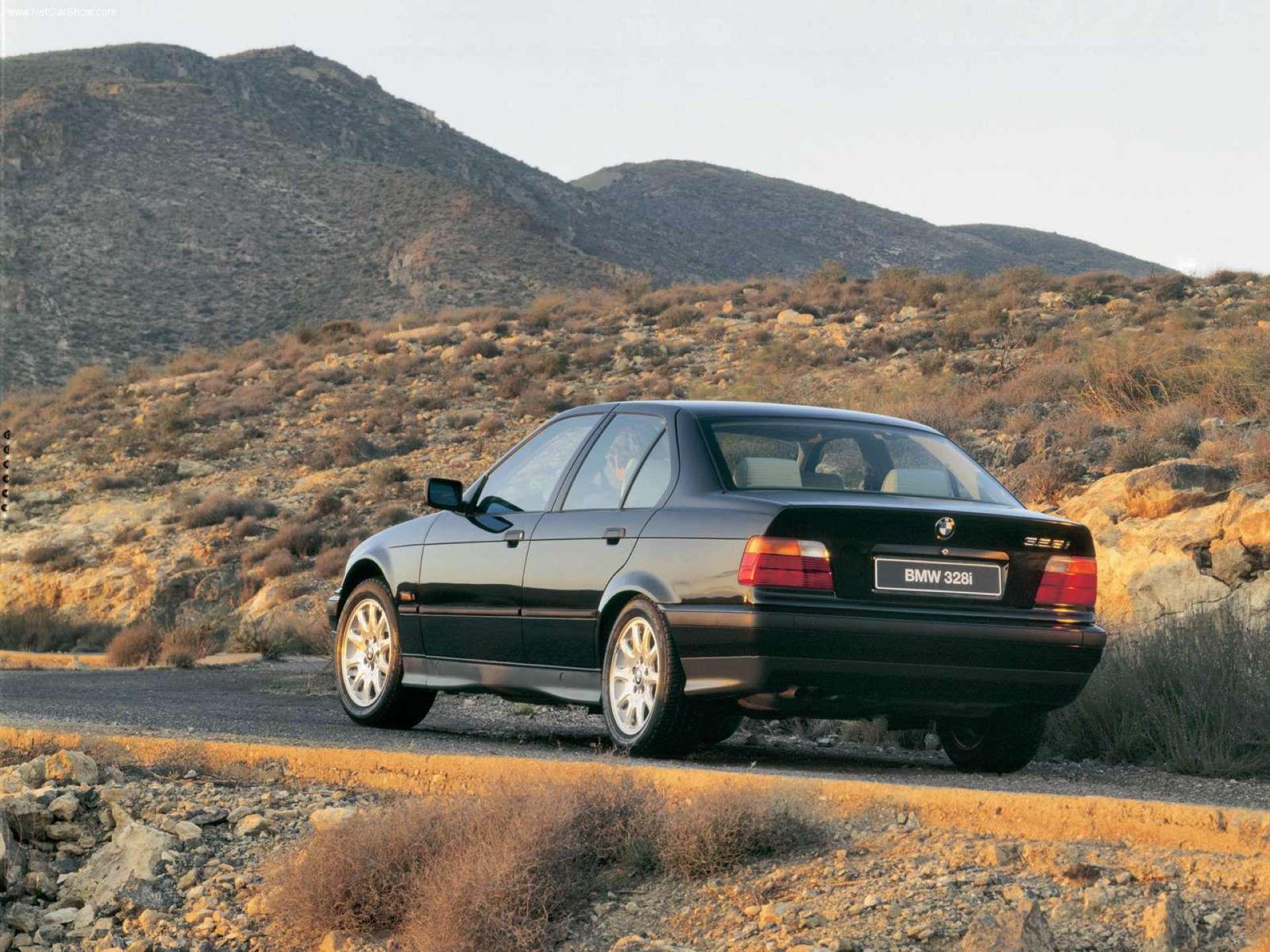 Pandemic Price Appreciation BMW E36 rear 3-quarter