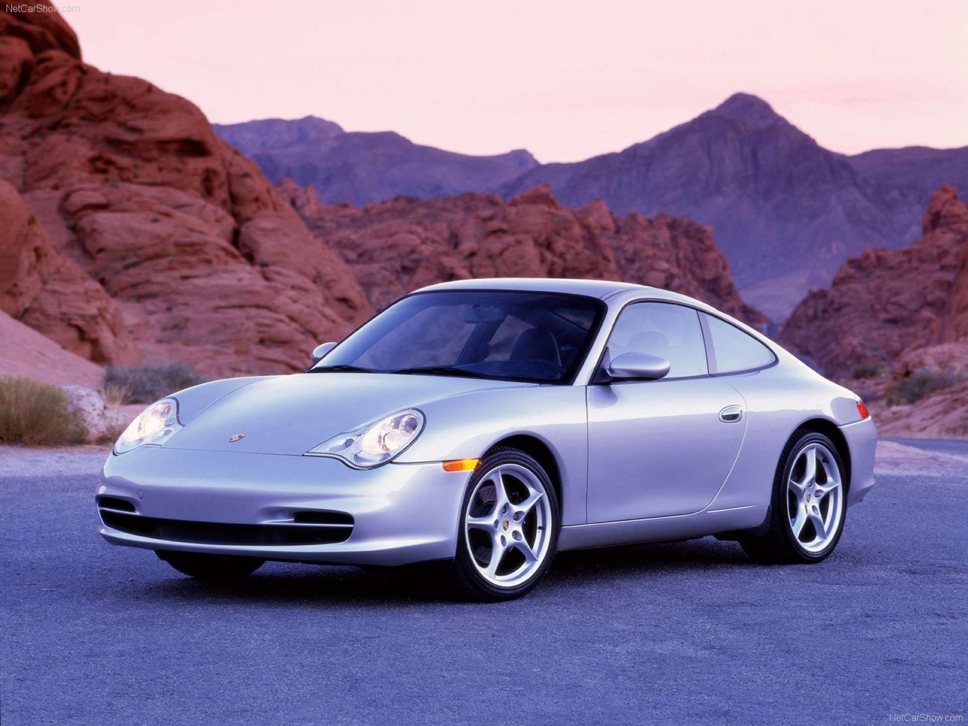 Pandemic Price Appreciation Porsche 996 front 3-quarter