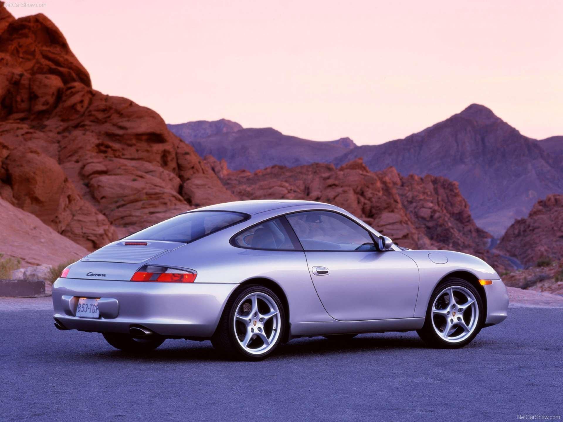 Pandemic Price Appreciation Porsche 996 rear 3-quarter
