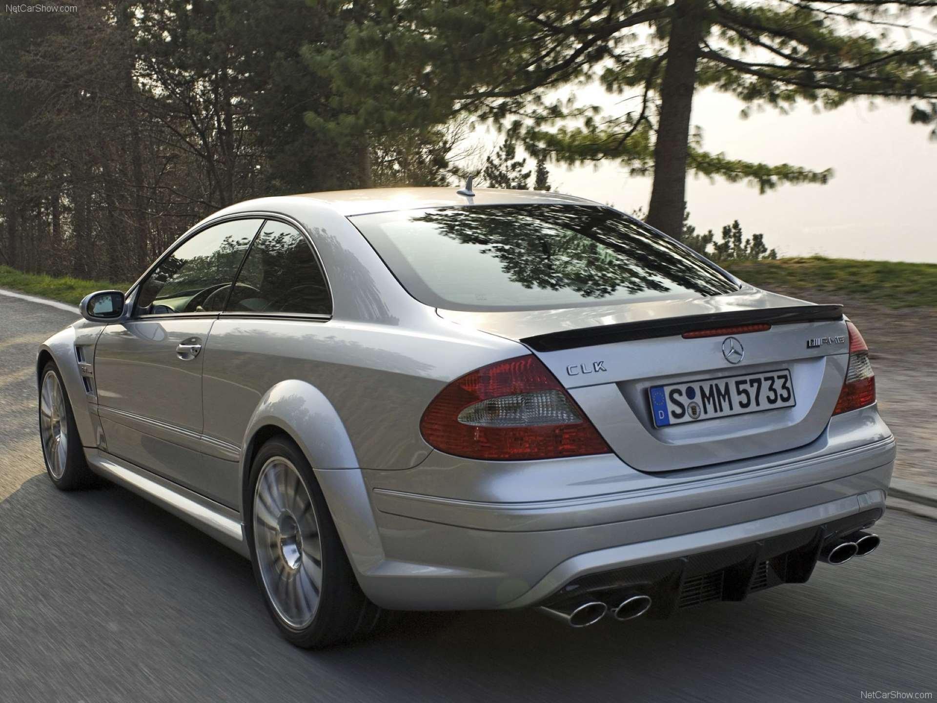 Pandemic Price Appreciation Mercedes-Benz W209 CLK63 AMG Black Series rear