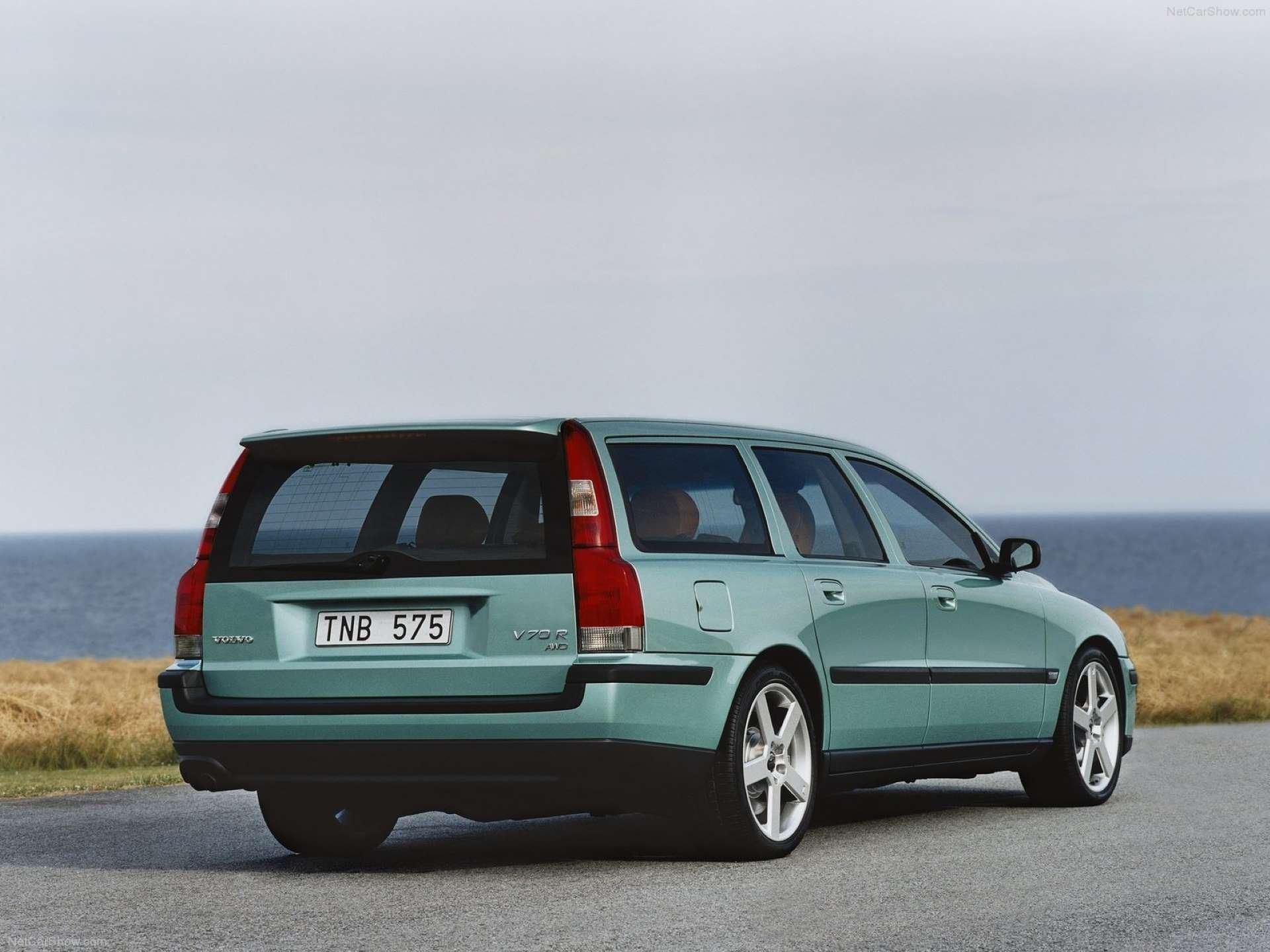 Pandemic Price Appreciation Volvo P2 V70R rear