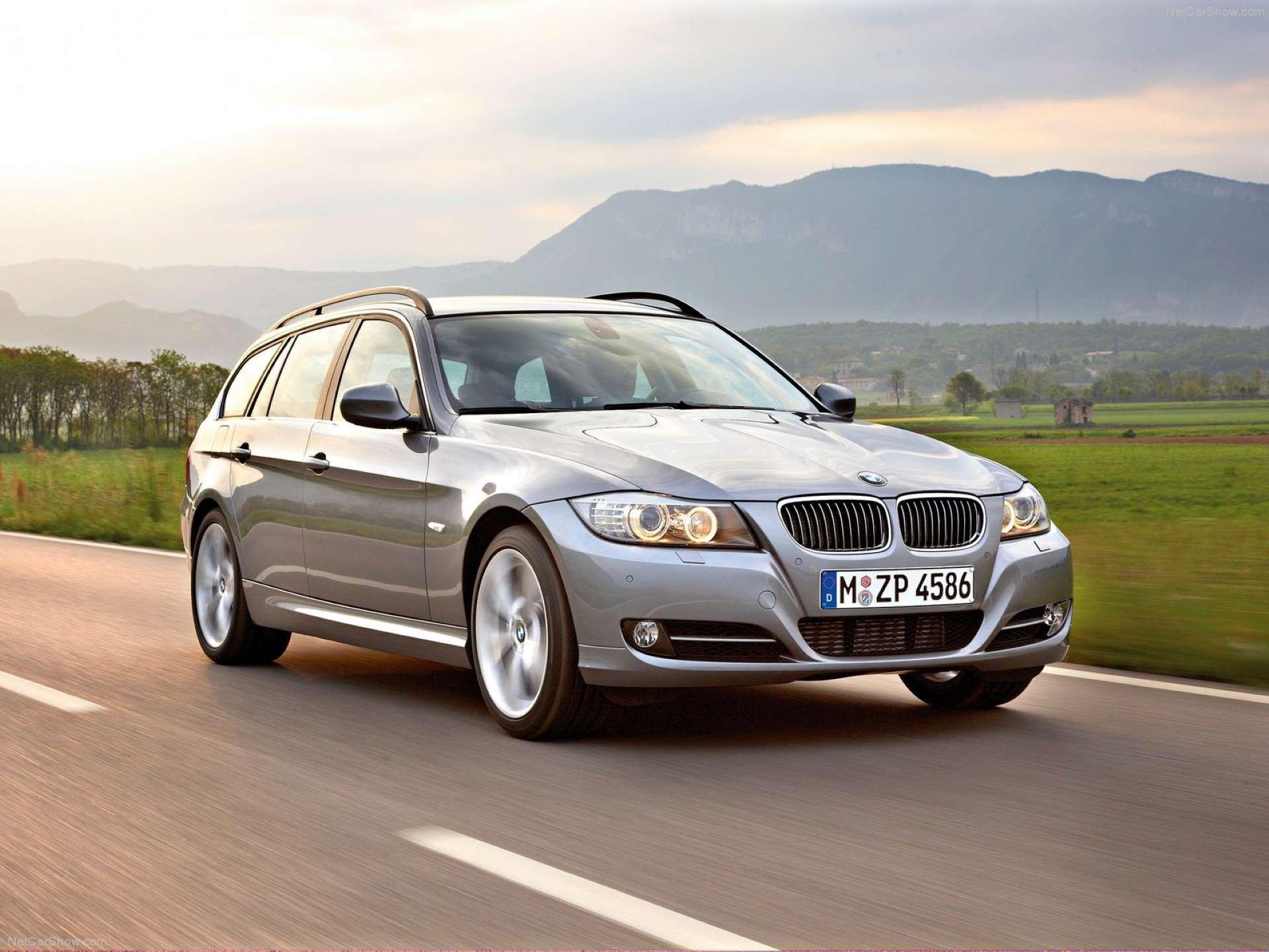 Best RWD Cars under 25K BMW E91 front three-quarter