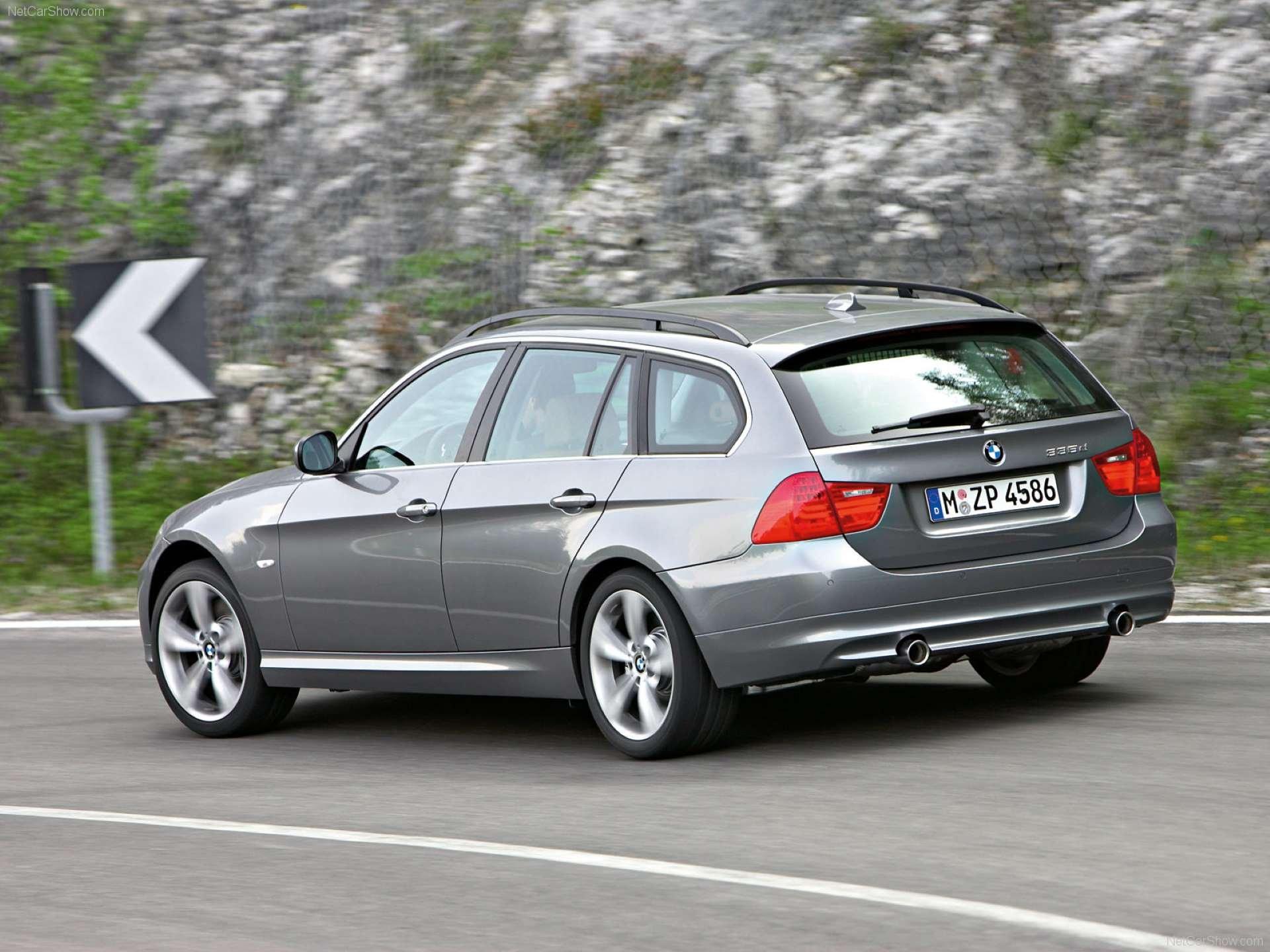 Best RWD Cars under 25K BMW E91 rear three-quarter]