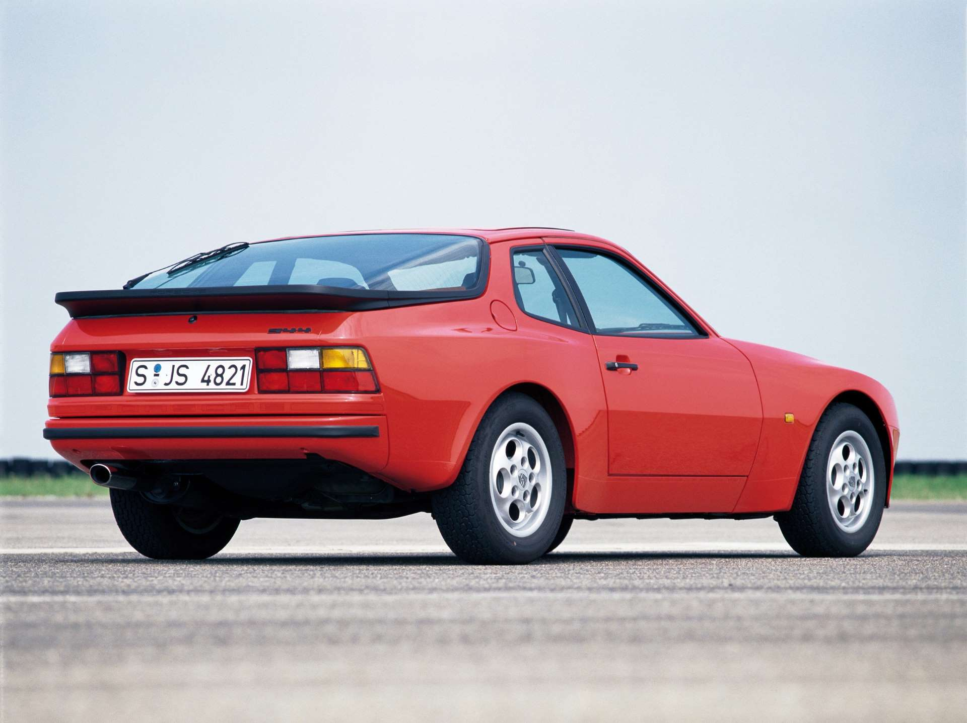 Pandemic No Appreciation Porsche 944 rear