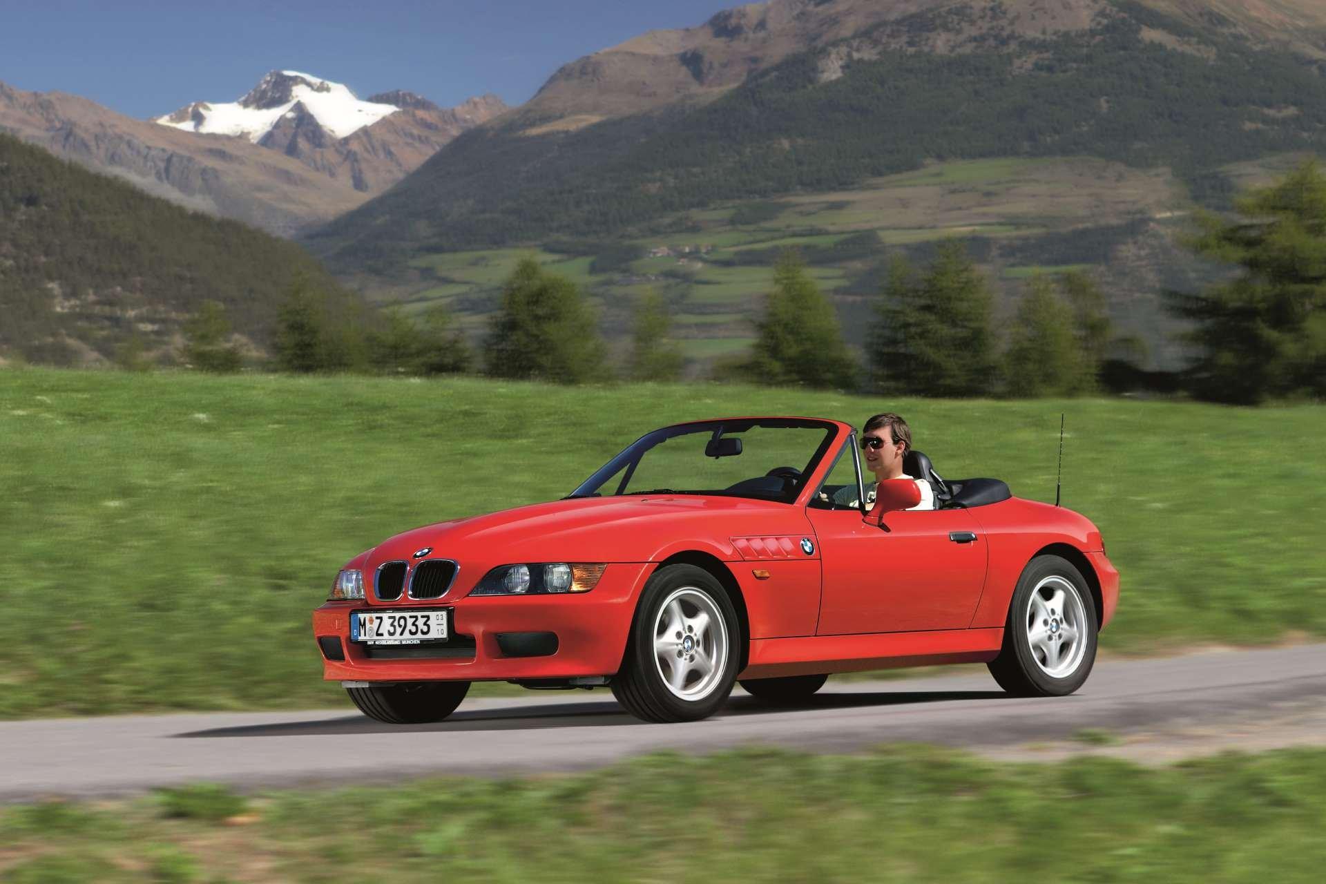 Pandemic No Appreciation BMW Z3 Roadster front