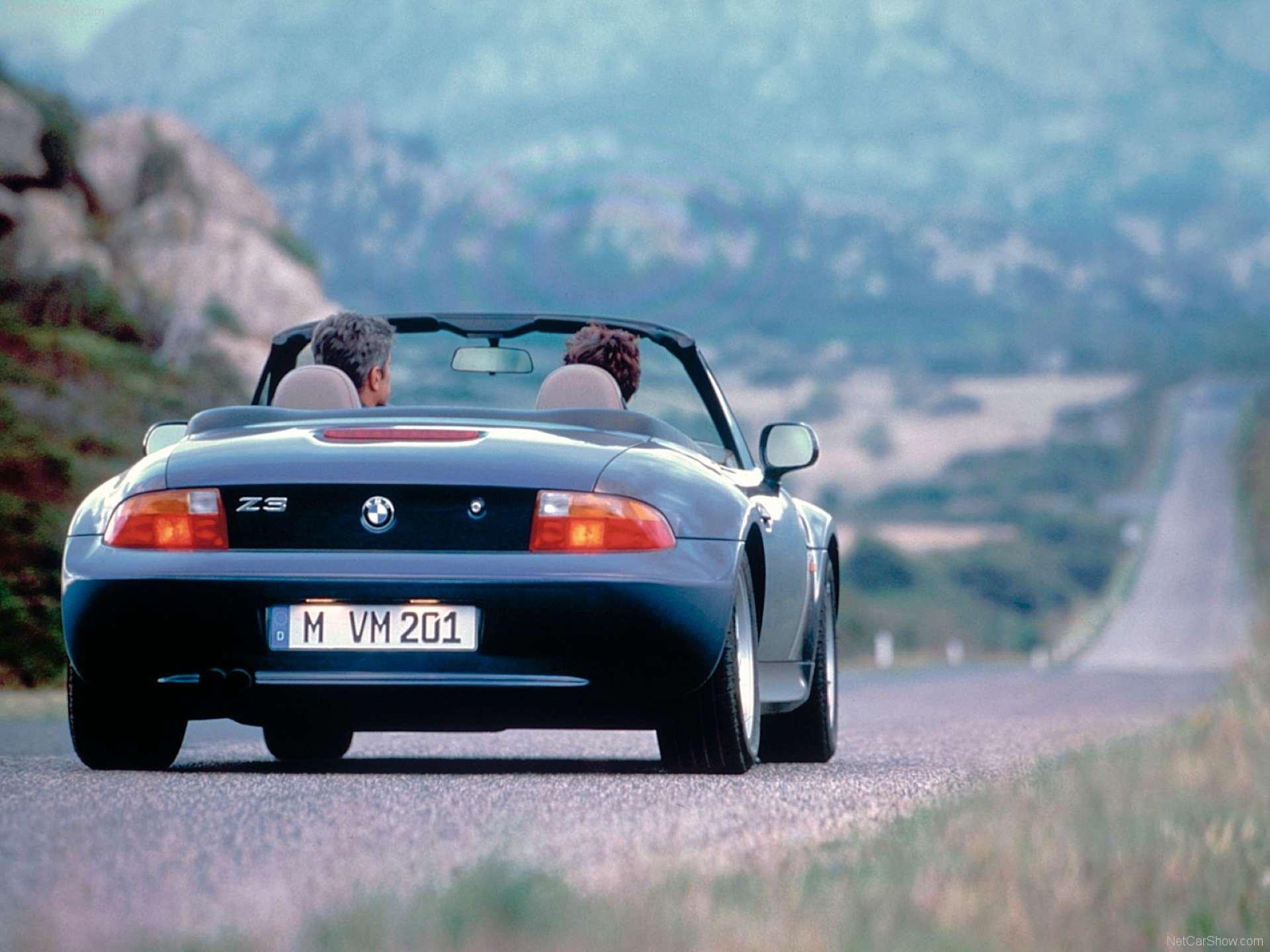 Pandemic No Appreciation BMW Z3 Roadster rear