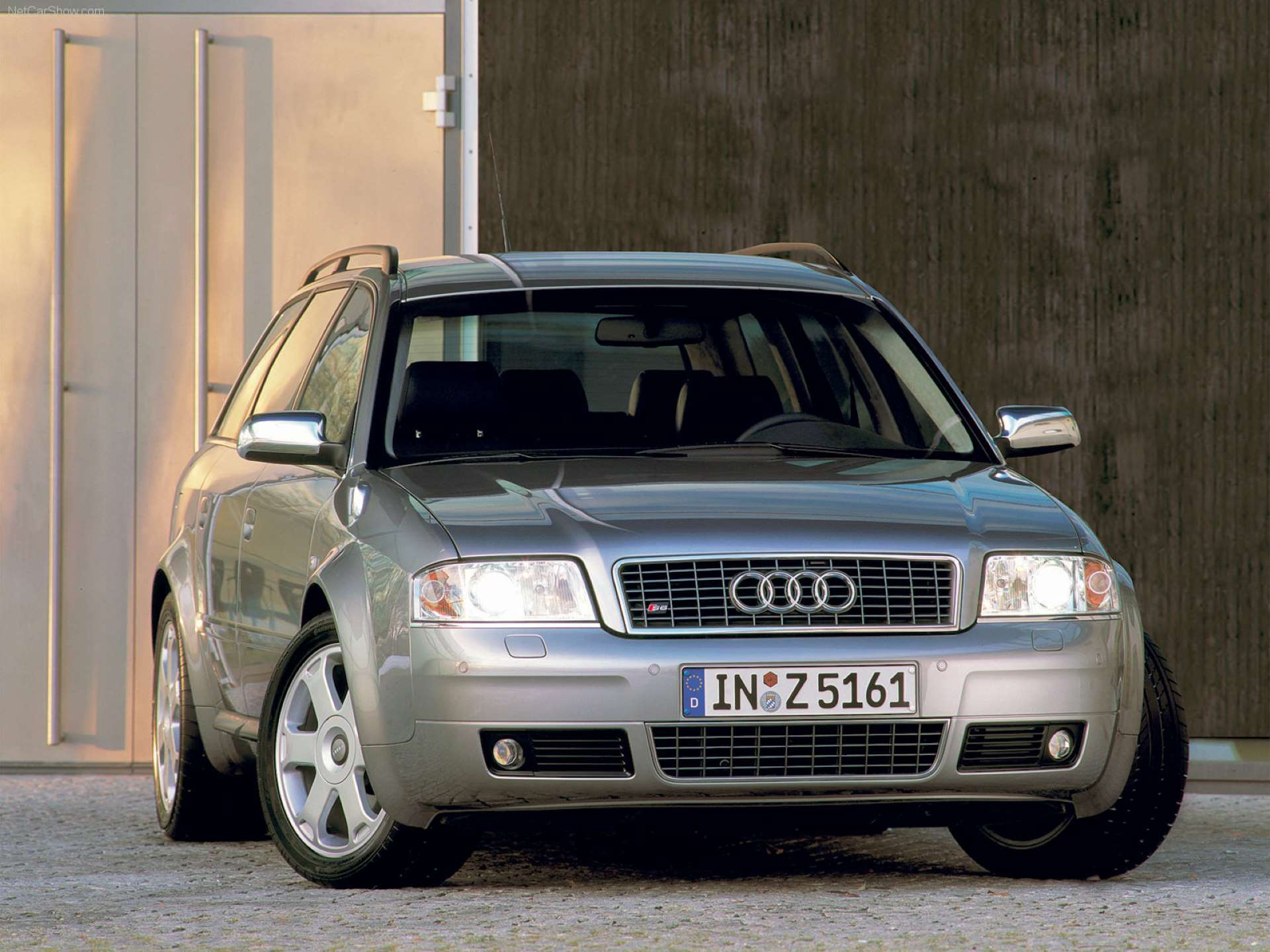 Pandemic No Appreciation Audi C5 S6 Avant front