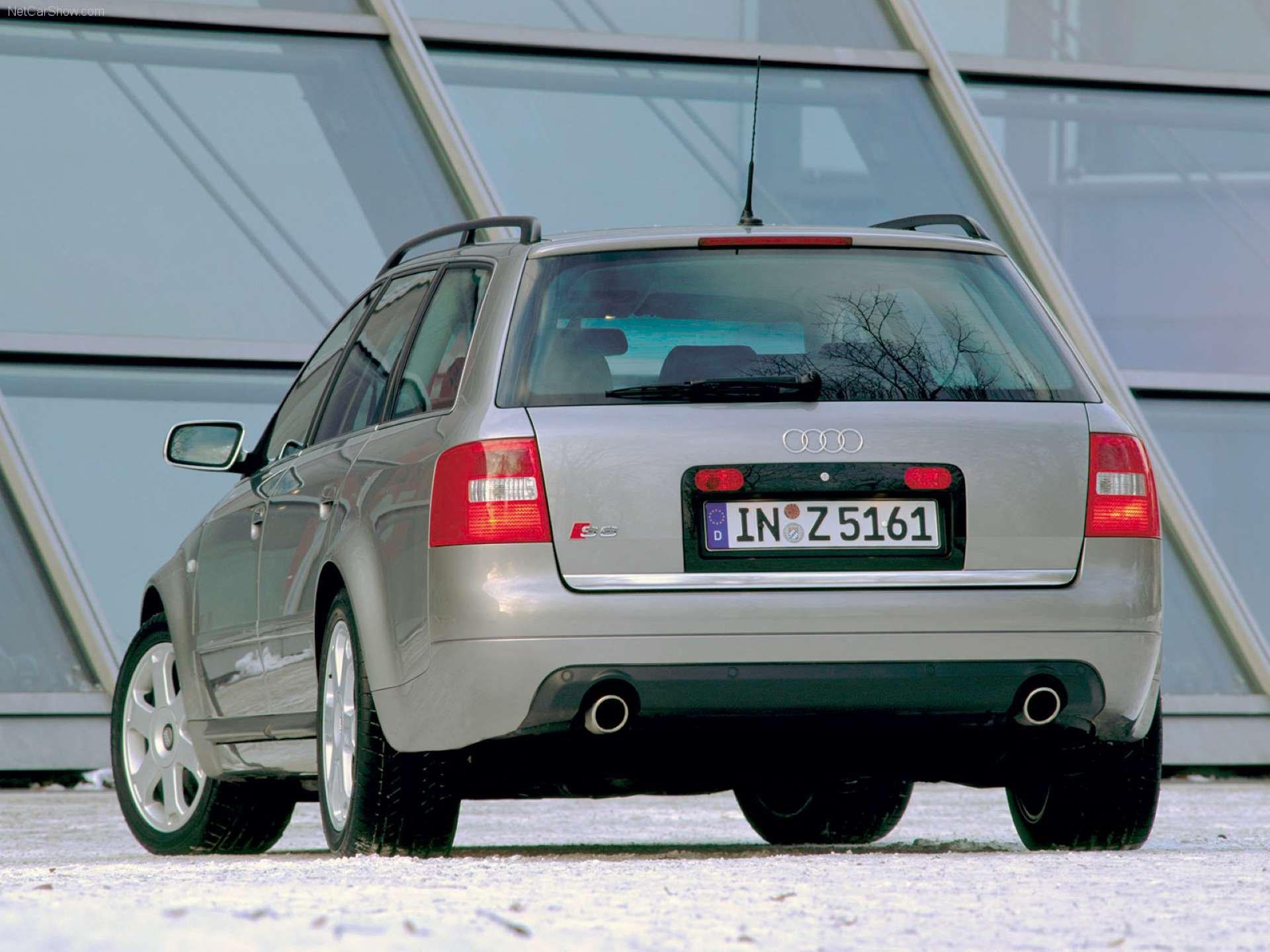 Pandemic No Appreciation Audi C5 S6 Avant rear