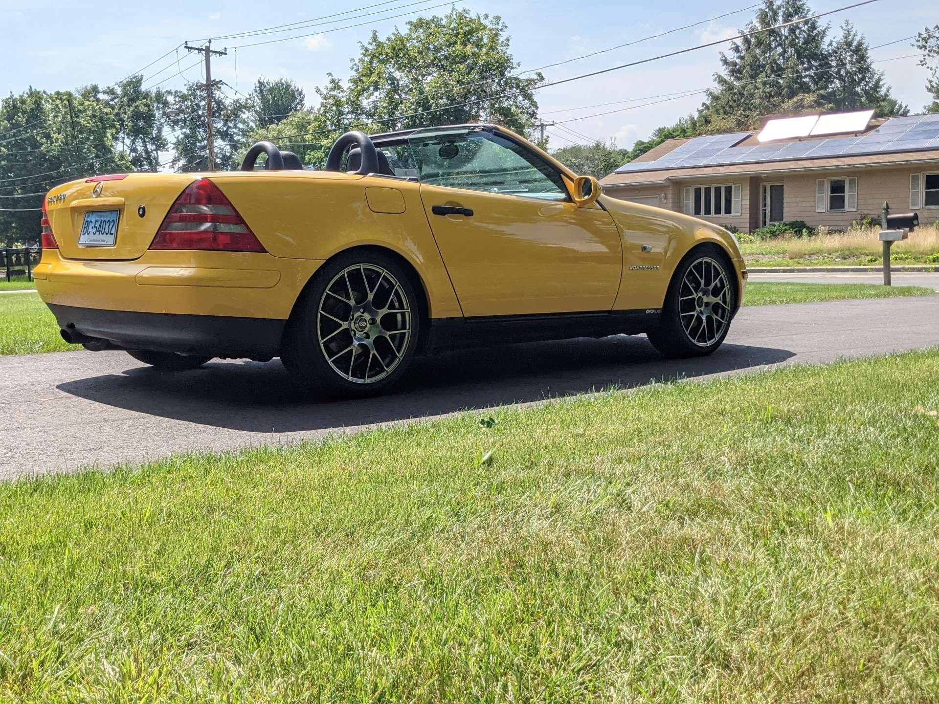 Pandemic No Appreciation Mercedes-Benz R170 SLK rear